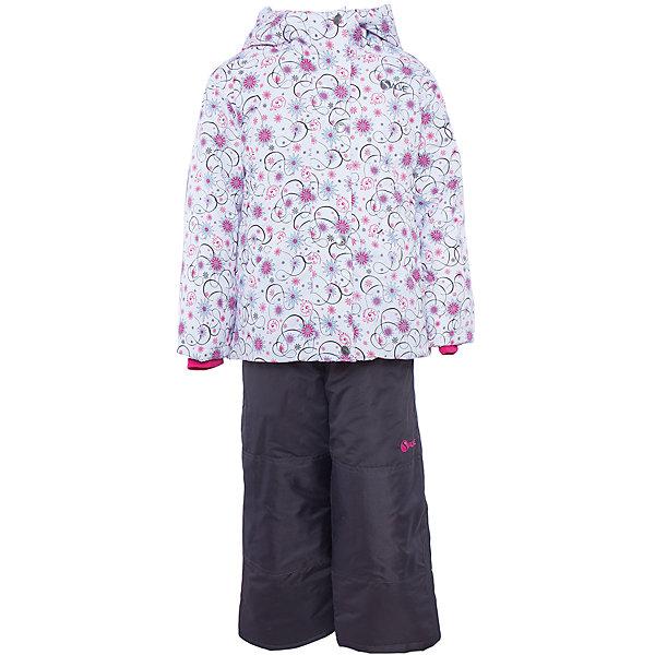 Комплект: куртка и полукомбинезон для девочки Salve by GustiВерхняя одежда<br>Характеристики:<br><br>• Сезон: зима<br>• Степень утепления: высокая (куртка – 330 гр/м.кв.; полукомбинезон – 200 гр/м.кв.)<br>• Температурный режим*: от 0 до -30 градусов<br>• Пол: для девочки<br>• Цвет: розовый, голубой, черный<br>• Материал: полиэстер 100%<br>• Комплектация: куртка, полукомбинезон<br>• Наличие снегозащитной юбки<br>• Тип застежки: молния, кнопки<br>• Манжеты на куртке: эластичные, трикотажные<br>• Капюшон: не отстегивается<br>• Регулируемые лямки у полукомбинезона<br>• Уход: допускается стирка без чистящих и отбеливающих средств<br><br>Бренд Salve by Gusti разработан и произведён канадской компанией Gusti International специально для российского рынка.<br><br>Комплект: куртка и полукомбинезон для девочки Salve by Gusti предназначен для прогулок в самое холодное время года. Изделие обеспечено высокой степенью утепления. Верхняя часть комплекта выполнена из полиэстера, который обладает ветрозащитными и влагонепропускаемыми свойствами. Подклад на куртке выполнен из флиса. Для обеспечения поддержания микроклимата имеются эластичные трикотажных манжеты на рукавах куртки и резинки на брюках. Изделие выполнено из прочной ткани, имеется усиление на коленях, по низу полукомбинезона и сзади. Крой комплекта выполнен с учетом повышенной подвижности ребенка во время зимних прогулок: расширенные брючины не сковывают движений. <br>Комплект: куртка и полукомбинезон для девочки Salve by Gusti выполнен в стильном дизайне: куртка с узором из цветочных элементов и полукомбинезон в классическом темном цвете.<br><br>* Температурный режим указан приблизительно — необходимо, прежде всего, ориентироваться на индивидуальные ощущения ребенка. Указанный температурный режим предполагает соблюдения многослойности – использования флисовой поддевы и термобелья.<br><br>Комплект: куртку и полукомбинезон для девочки Salve by Gusti можно купить в нашем интернет-магазине.<br><br>Ширина мм: 356<br>Глубина м