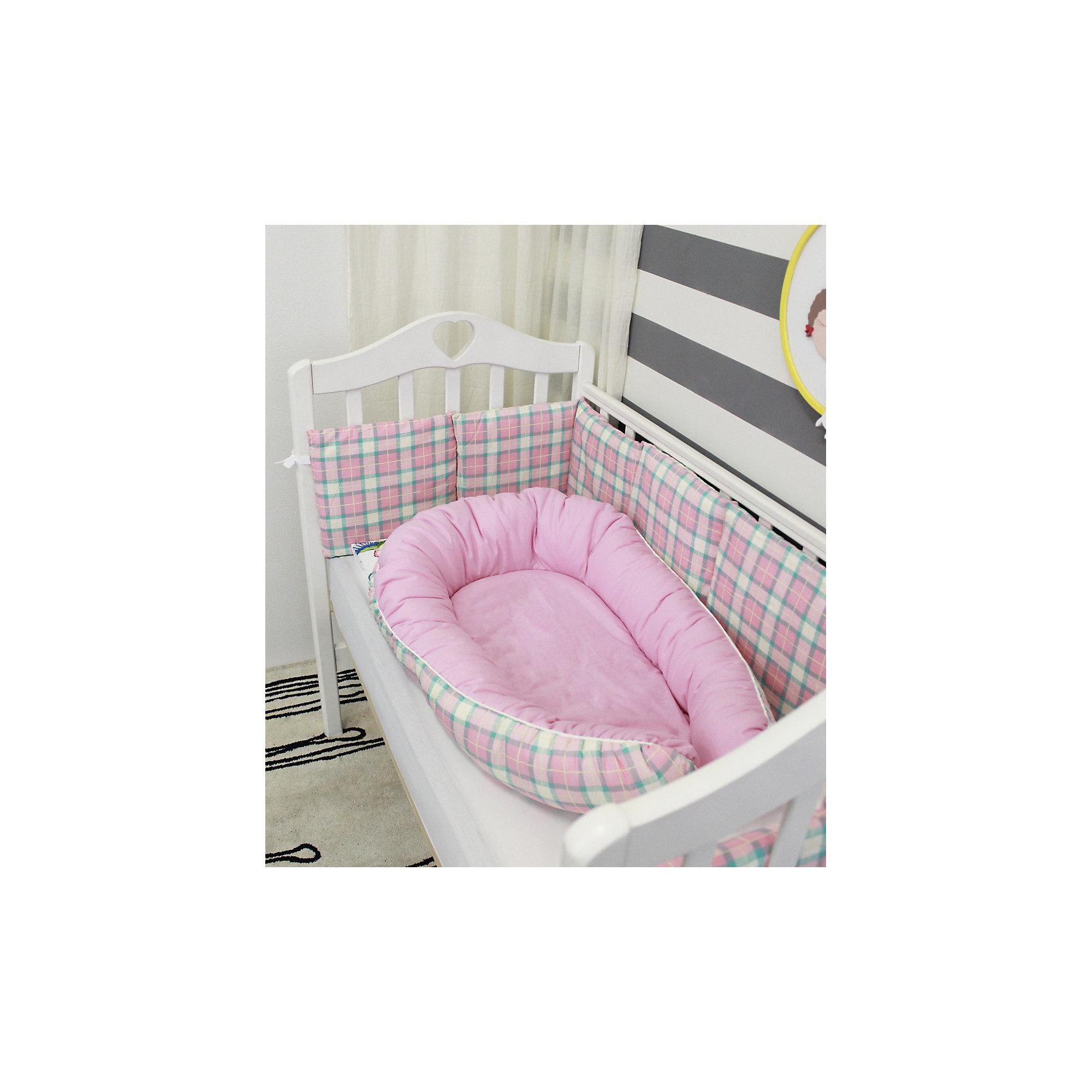 byTwinz Подушка-гнездо для малыша Babynest, byTwinz, Колибри