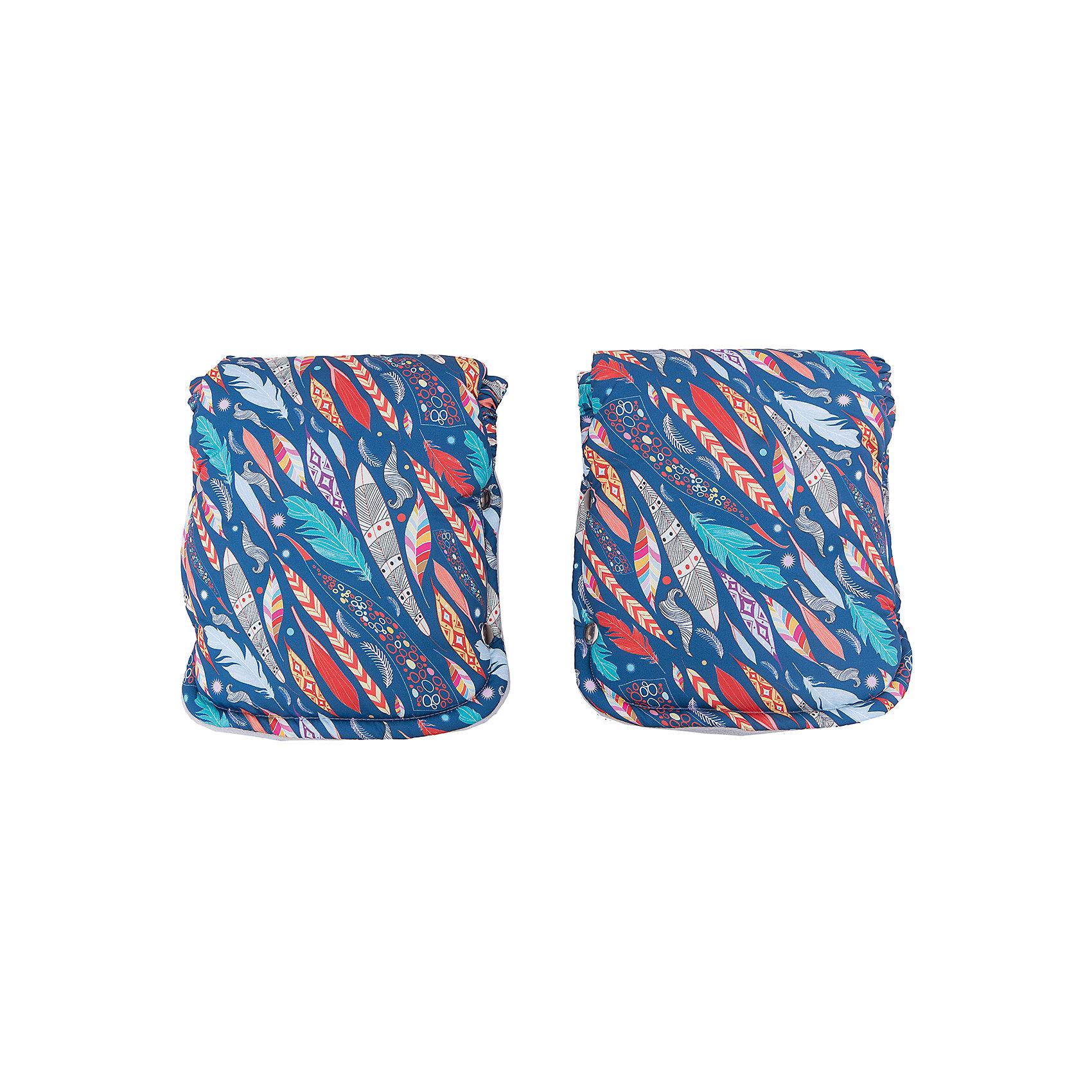 Муфта для рук (рукавички) Сантьяго, byTwinz, цветнойАксессуары для колясок<br>Теплые рукавицы на осенне-зимний период защищают руки мамы, бабушки или няни от ветра, холода и непогоды, согревают их и помогают сохранить здоровье и бархатность кожи рук. Муфра для рук состоит из двух рукавичек, которые застегиваются на кнопки, используется как для колясок с цельной ручкой, так для колясок с отдельными ручками. <br><br>Дополнительная информация:<br><br>Температурный режим: до -15 градусов<br><br>Материал: <br><br>- верх: непромокаемая ткань, <br>- подкладка: флис, <br>- утеплитель: холофайбер.<br><br>Муфту для рук (рукавички) Сантьяго, byTwinz, цветную можно купить в нашем интернет-магазине.<br><br>Ширина мм: 250<br>Глубина мм: 230<br>Высота мм: 130<br>Вес г: 180<br>Возраст от месяцев: 0<br>Возраст до месяцев: 36<br>Пол: Унисекс<br>Возраст: Детский<br>SKU: 5045085
