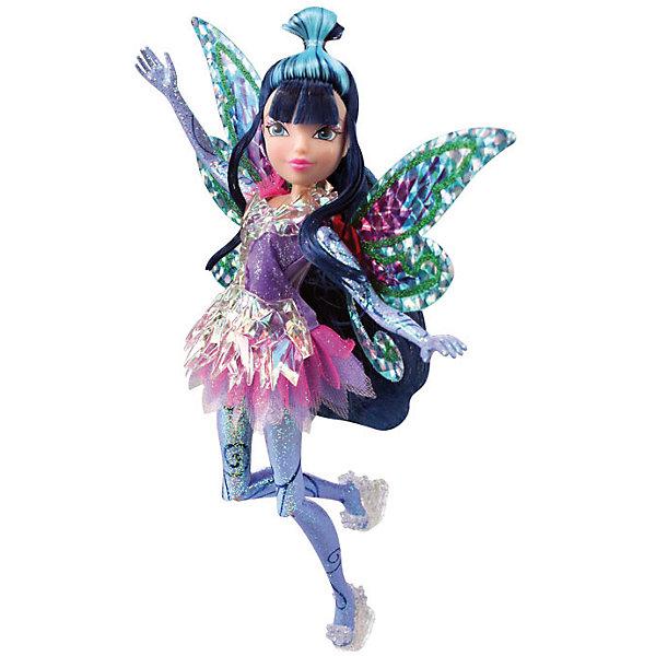 Кукла Муза, Тайникс, Winx ClubКуклы<br>Характеристики товара:<br><br>- цвет: разноцветный;<br>- материал: пластик, текстиль;<br>- особенности: руки и ноги сгибаются;<br>- размер упаковки: 25х36х6 см;<br>- размер куклы: 28 см.<br><br>Такие красивые куклы не оставят ребенка равнодушным! Какая девочка откажется поиграть с куклой Winx ?! Игрушка отлично детализирована, очень качественно выполнена, поэтому она станет отличным подарком ребенку. В наборе идут одежда и аксессуары, которыми можно украсить куклу!<br>Изделие произведено из высококачественного материала, безопасного для детей.<br><br>Куклу Муза, Тайникс, от бренда Winx Club можно купить в нашем интернет-магазине.<br>Ширина мм: 60; Глубина мм: 250; Высота мм: 360; Вес г: 425; Возраст от месяцев: 36; Возраст до месяцев: 2147483647; Пол: Женский; Возраст: Детский; SKU: 5047565;