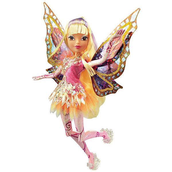 Кукла Стелла, Тайникс, Winx ClubКуклы<br>Характеристики товара:<br><br>- цвет: разноцветный;<br>- материал: пластик, текстиль;<br>- особенности: руки и ноги сгибаются;<br>- размер упаковки: 25х36х6 см;<br>- размер куклы: 28 см.<br><br>Такие красивые куклы не оставят ребенка равнодушным! Какая девочка откажется поиграть с куклой Winx ?! Игрушка отлично детализирована, очень качественно выполнена, поэтому она станет отличным подарком ребенку. В наборе идут одежда и аксессуары, которыми можно украсить куклу!<br>Изделие произведено из высококачественного материала, безопасного для детей.<br><br>Куклу Стелла, Тайникс, от бренда Winx Club можно купить в нашем интернет-магазине.<br><br>Ширина мм: 60<br>Глубина мм: 250<br>Высота мм: 360<br>Вес г: 425<br>Возраст от месяцев: 36<br>Возраст до месяцев: 2147483647<br>Пол: Женский<br>Возраст: Детский<br>SKU: 5047566
