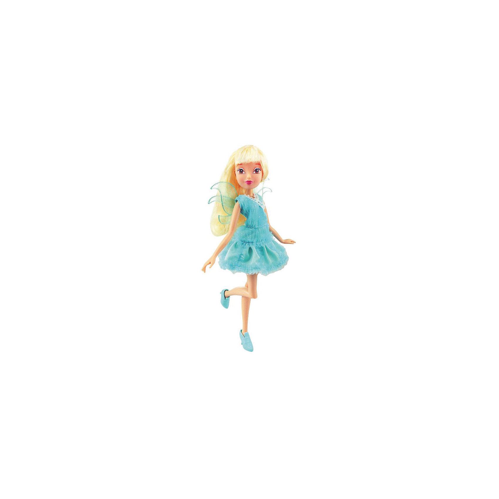 Кукла Стелла, Магическая лаборатория, Winx ClubБренды кукол<br>Характеристики товара:<br><br>- цвет: разноцветный;<br>- материал: пластик, текстиль;<br>- особенности: руки и ноги сгибаются;<br>- размер упаковки: 25х36х6 см;<br>- размер куклы: 28 см.<br><br>Такие красивые куклы не оставят ребенка равнодушным! Какая девочка откажется поиграть с куклой Winx ?! Игрушка отлично детализирована, очень качественно выполнена, поэтому она станет отличным подарком ребенку. В наборе идут одежда и аксессуары, которыми можно украсить куклу!<br>Изделие произведено из высококачественного материала, безопасного для детей.<br><br>Куклу Стелла, Магическая лаборатория от бренда Winx Club можно купить в нашем интернет-магазине.<br><br>Ширина мм: 60<br>Глубина мм: 260<br>Высота мм: 350<br>Вес г: 350<br>Возраст от месяцев: 36<br>Возраст до месяцев: 2147483647<br>Пол: Женский<br>Возраст: Детский<br>SKU: 5047575