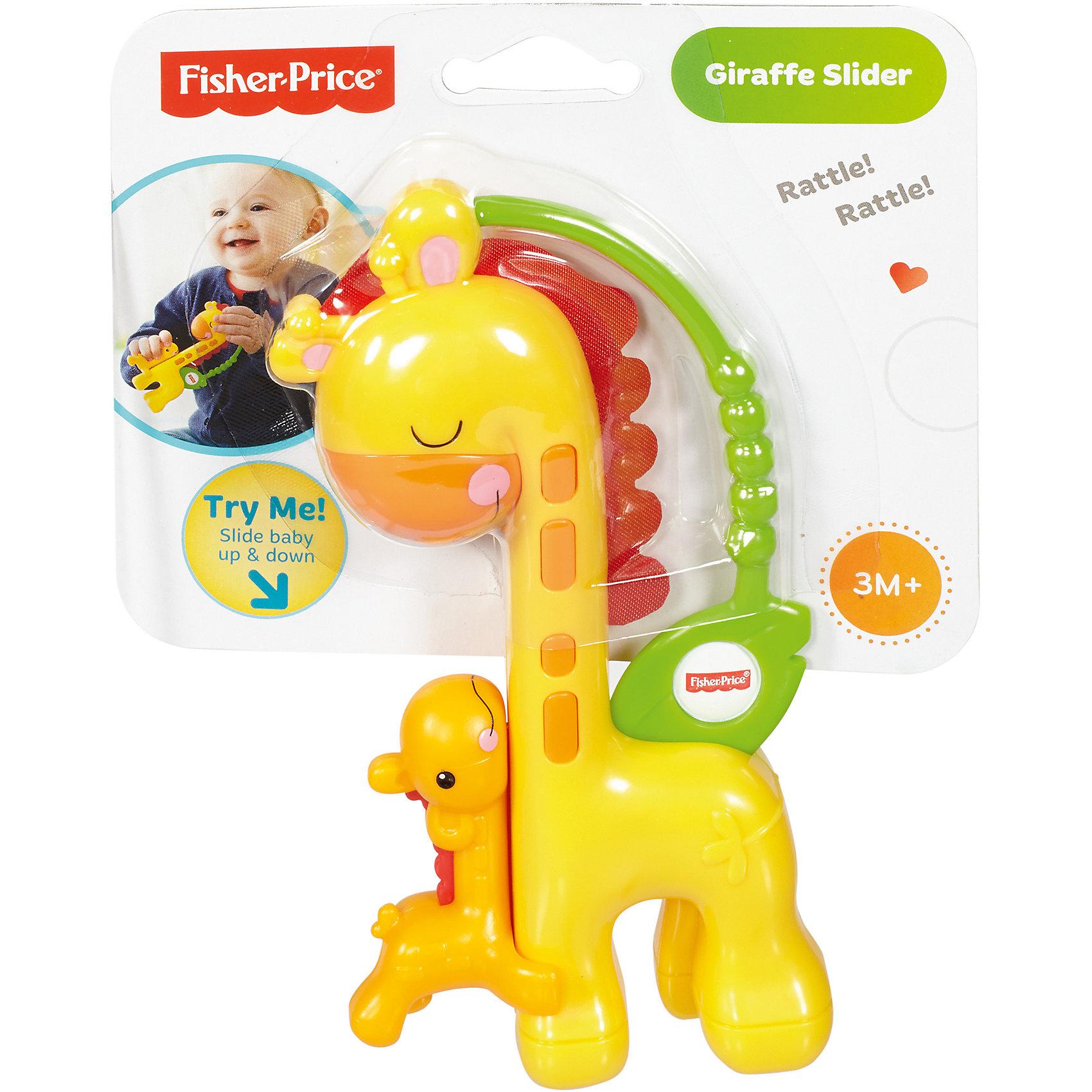 Прорезыватель Жираф, Fisher Price (Mattel)