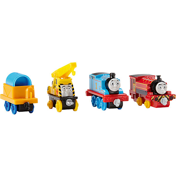 Игровой набор, Томас и его друзьяЖелезные дороги<br>Игровой набор Томас, и его друзья из серии Collectible Railway - это грузовой кран и два очаровательных паровозика, выполненные в виде героев любимого детского мультфильма Thomas &amp; Friends. Для того, чтобы игра была веселее к ним добавлен вагончик для перевозки грузов, который можно прикрепить к любому из паровозов, что позволит ребенку придумать и разыграть еще больше увлекательных сюжетов. Корпуса фигурок выполнены из литого металла, что делает их долговечными и устойчивыми к поломкам. Паровозы и вагончики окрашены в яркие цвета и сразу привлекают внимание ребенка даже если он еще не знаком с их мультипликационными прототипами. В процессе производства игрушек были использованы только нетоксичные материалы. При соблюдении рекомендаций, данных производителем, набор безопасен для детей.<br><br>Дополнительная информация:<br><br>- возраст: от 3 лет.<br>- материал: металл, пластик.<br>- размер упаковки: 25,5*13*3,5 см.<br>- вес: 200 г.<br>- в комплекте: 2 паровозика и грузовой кран<br>- страна обладатель бренда: США.<br><br>Паровозики, Томас и его друзья торговой марки   Fisher-Price (Фишер Прайс)   можно купить в нашем интернет-магазине<br><br>Ширина мм: 35<br>Глубина мм: 130<br>Высота мм: 255<br>Вес г: 241<br>Возраст от месяцев: 36<br>Возраст до месяцев: 120<br>Пол: Мужской<br>Возраст: Детский<br>SKU: 5047635