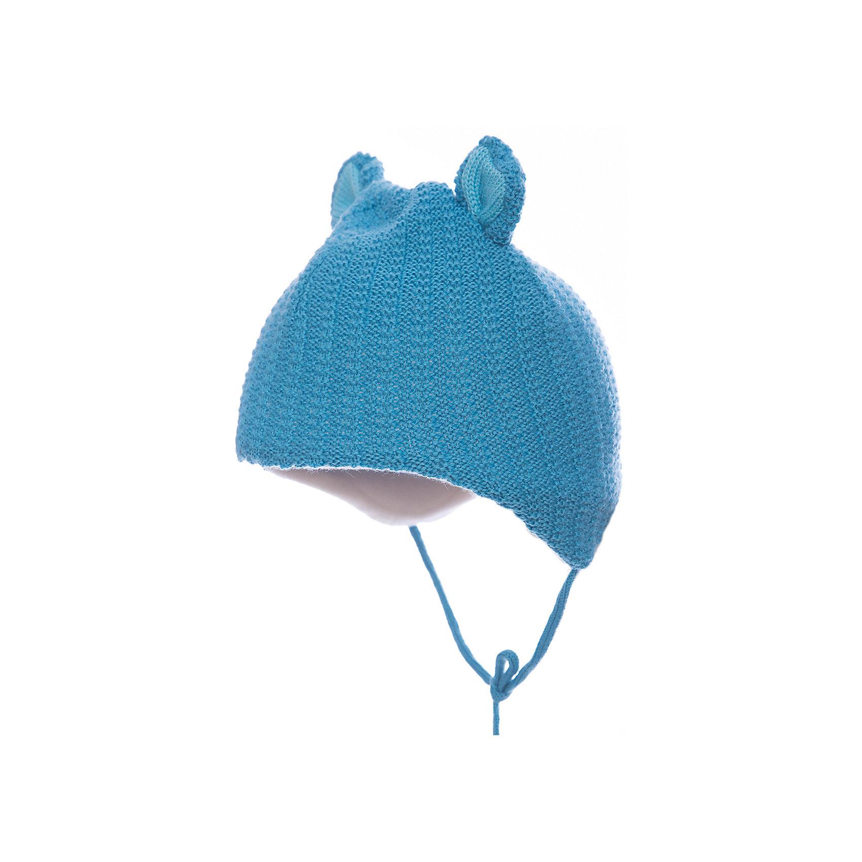 Шапка JanusШапка Janus<br>Теплая шапка, надежно защищающая головку и ушки малыша на прогулках, – обязательный элемент детской одежды в холодное время года. Плотная шерстяная шапочка из 100%-ной шерсти мериноса на подкладке из хлопкового трикотажа отвечает самым строгим требованиям заботливых родителей. Она гигроскопична, гипоаллергенна, обладает антибактериальным эффектом и прекрасно сохраняет тепло. <br><br>Благодаря завязкам шапочка плотно прилегает к головке ребенка, защищая ее от холодного ветра и мороза. А разнообразие цветовых вариантов позволит вам подобрать изделие на свой вкус. <br><br>Ребенку обязательно понравится его новая, легкая и теплая шерстяная шапочка с имитацией ушек.  Вам останется только завязать ее под подбородком малыша и отправиться вместе с ним на увлекательную зимнюю прогулку<br><br>Состав:<br>100% шерсть, подкладка 100% хлопок<br><br>Ширина мм: 89<br>Глубина мм: 117<br>Высота мм: 44<br>Вес г: 155<br>Цвет: синий<br>Возраст от месяцев: 12<br>Возраст до месяцев: 24<br>Пол: Мужской<br>Возраст: Детский<br>Размер: 47-49,49-51<br>SKU: 5048666