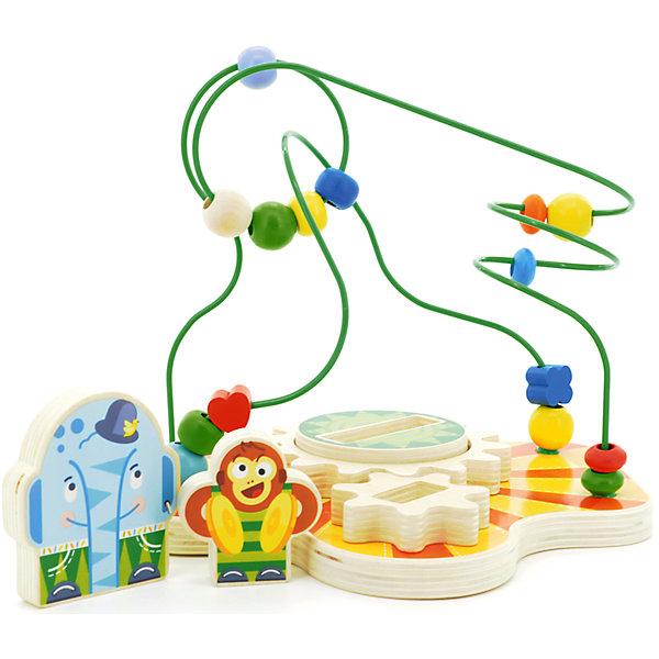 Сортер-лабиринт Цирк, МДИРазвивающие игрушки<br>Характеристики товара:<br><br>- цвет: разноцветный;<br>- материал: дерево;<br>- особенности: помогает развитию важных навыков;<br>- комплектация: основа, мелкие детали;<br>- размер упаковки: 23х19х20 см;<br>- вес: 700 г.<br><br>Развивать навыки ребенка можно в любом возрасте! Эта обучающая игрушка поможет малышу в игровой форме научиться многому. Игрушка очень качественно выполнена, поэтому она станет отличным подарком ребенку. Она состоит из основы и мелких неснимающихся деталей, которые можно двигать. Такое изделие отлично тренирует у ребенка разные навыки. Играя с ней, малыш осваивает счет, развивает мелкую моторику, цветовосприятие, внимание, воображение и творческое мышление.<br>Изделие произведено из высококачественного материала, безопасного для детей.<br><br>Сортер-лабиринт Цирк от бренда Мир деревянных игрушек можно купить в нашем интернет-магазине.<br><br>Ширина мм: 23<br>Глубина мм: 19<br>Высота мм: 20<br>Вес г: 700<br>Возраст от месяцев: 36<br>Возраст до месяцев: 2147483647<br>Пол: Унисекс<br>Возраст: Детский<br>SKU: 5048953