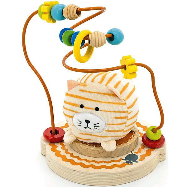 Лабиринт Мурлыка, МДИРазвивающие игрушки<br>Характеристики товара:<br><br>- цвет: разноцветный;<br>- материал: дерево, металл, текстиль;<br>- особенности: помогает развитию важных навыков;<br>- комплектация: основа, мелкие детали;<br>- размер упаковки: 21х19х16 см;<br>- вес: 550 г.<br><br>Развивать навыки ребенка можно в любом возрасте! Эта обучающая игрушка поможет малышу в игровой форме научиться многому. Игрушка очень качественно выполнена, поэтому она станет отличным подарком ребенку. Она состоит из основы и мелких неснимающихся деталей, которые можно двигать. Такое изделие отлично тренирует у ребенка разные навыки. Играя с ней, малыш осваивает счет, развивает мелкую моторику, цветовосприятие, внимание, воображение и творческое мышление.<br>Изделие произведено из высококачественного материала, безопасного для детей.<br><br>Лабиринт Мурлыка от бренда Мир деревянных игрушек можно купить в нашем интернет-магазине.<br>Ширина мм: 19; Глубина мм: 16; Высота мм: 21; Вес г: 550; Возраст от месяцев: 36; Возраст до месяцев: 2147483647; Пол: Унисекс; Возраст: Детский; SKU: 5048958;