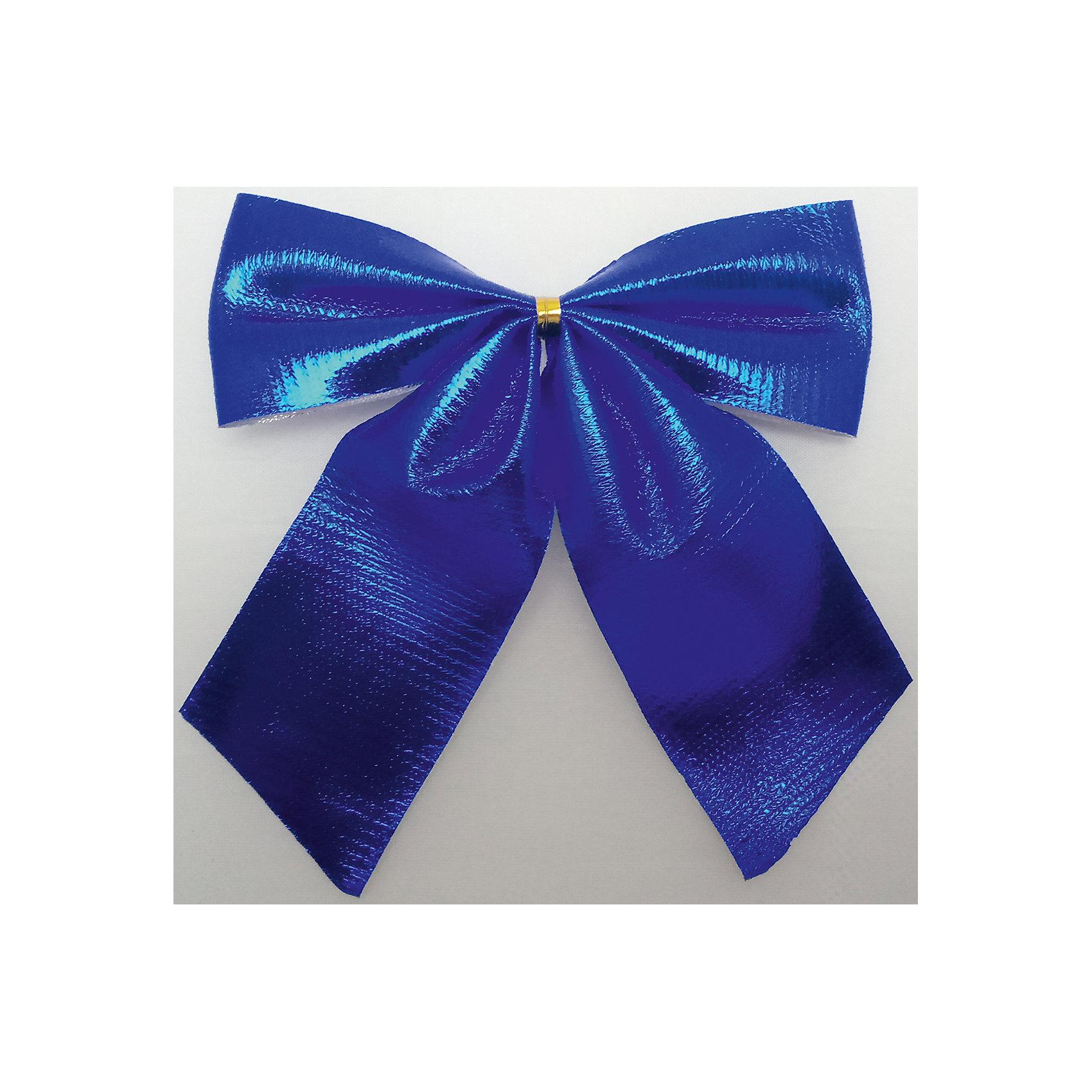 Набор синих метализированных бантов, 4 штВсё для праздника<br>Банты металлизированные синий 4 банта 10см арт.16046  Бант выполнен из нейлона и предназначен для оформления подарочных коробок, пакетов. Кроме того, декоративный бант прекрасно для оформления праздничной елки и интерьера.<br><br>Ширина мм: 290<br>Глубина мм: 160<br>Высота мм: 10<br>Вес г: 180<br>Возраст от месяцев: 72<br>Возраст до месяцев: 480<br>Пол: Унисекс<br>Возраст: Детский<br>SKU: 5051620