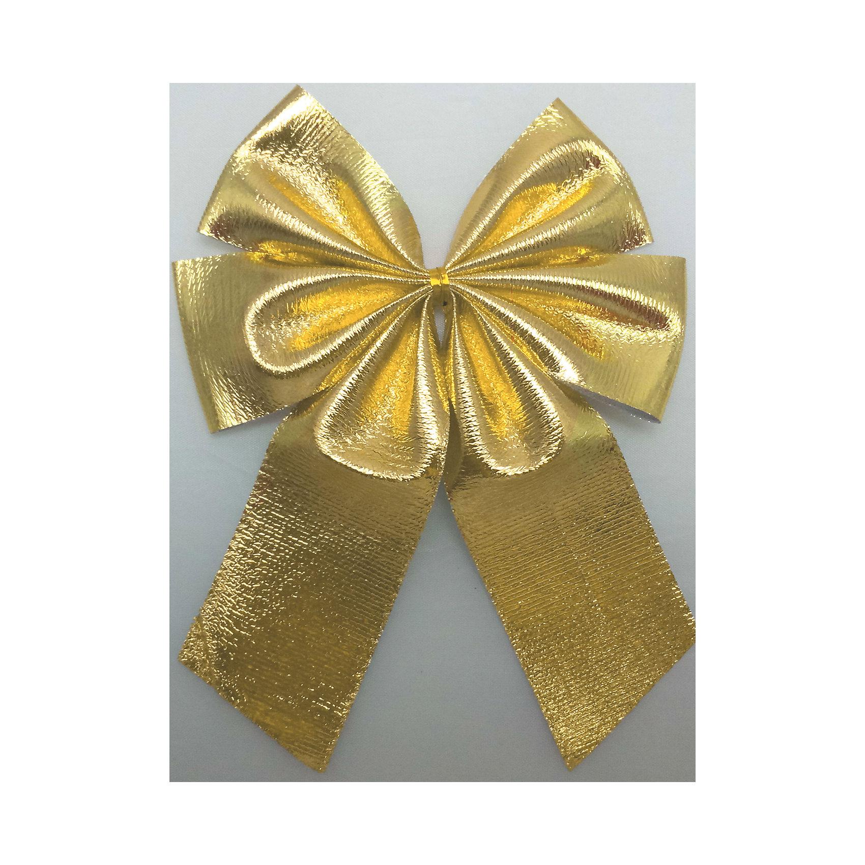 Набор Золотой бант 3 шт * 11 смБанты металлизированные золото 3 банта 11см арт.16053   Бант выполнен из нейлона и предназначен для оформления подарочных коробок, пакетов. Кроме того, декоративный бант прекрасно для оформления праздничной елки и интерьера.<br><br>Ширина мм: 290<br>Глубина мм: 170<br>Высота мм: 10<br>Вес г: 60<br>Возраст от месяцев: 72<br>Возраст до месяцев: 480<br>Пол: Унисекс<br>Возраст: Детский<br>SKU: 5051627