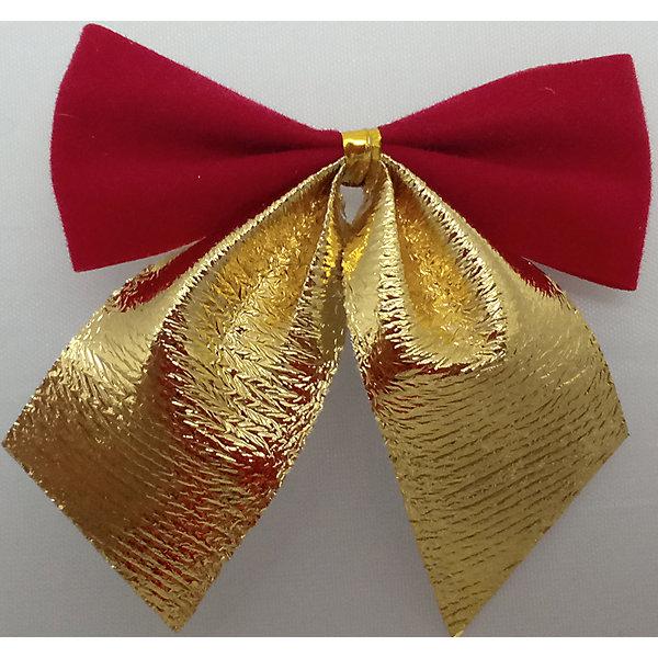 Набор Красные с золотом банты 12 штНовогодняя мишура и бусы<br>Банты красные с золотом 12 штук арт.16073   Бант выполнен из нейлона и предназначен для оформления подарочных коробок, пакетов. Кроме того, декоративный бант прекрасно для оформления праздничной елки и интерьера.<br><br>Ширина мм: 290<br>Глубина мм: 170<br>Высота мм: 10<br>Вес г: 100<br>Возраст от месяцев: 72<br>Возраст до месяцев: 480<br>Пол: Унисекс<br>Возраст: Детский<br>SKU: 5051633