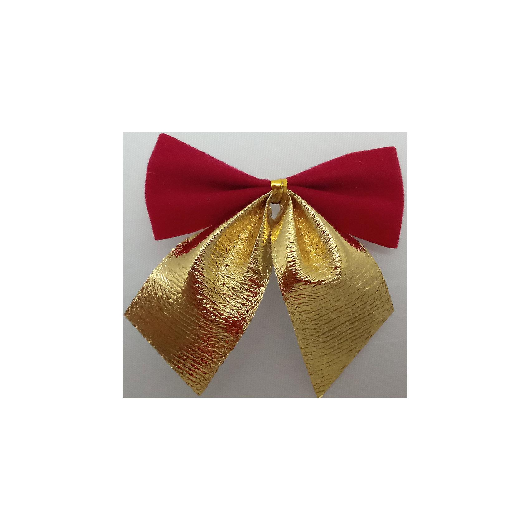 Набор Красные с золотом банты 12 штВсё для праздника<br>Банты красные с золотом 12 штук арт.16073   Бант выполнен из нейлона и предназначен для оформления подарочных коробок, пакетов. Кроме того, декоративный бант прекрасно для оформления праздничной елки и интерьера.<br><br>Ширина мм: 290<br>Глубина мм: 170<br>Высота мм: 10<br>Вес г: 100<br>Возраст от месяцев: 72<br>Возраст до месяцев: 480<br>Пол: Унисекс<br>Возраст: Детский<br>SKU: 5051633