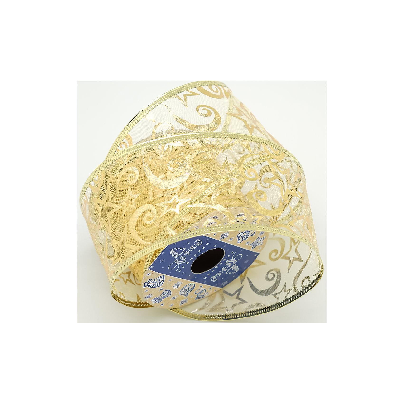Декоративная лента,золото ажурное (0,08Х0,08Х0,06 м)лента  6 см декоративная категория 1 золото ажурное арт.16131 Лента выполнена из нейлона и  предназначена для оформления цветочных букетов, подарочных коробок, пакетов. Кроме того, декоративная лента с успехом применяется для художественного оформления праздничной елки.<br><br>Ширина мм: 80<br>Глубина мм: 80<br>Высота мм: 60<br>Вес г: 0<br>Возраст от месяцев: 72<br>Возраст до месяцев: 480<br>Пол: Унисекс<br>Возраст: Детский<br>SKU: 5051650