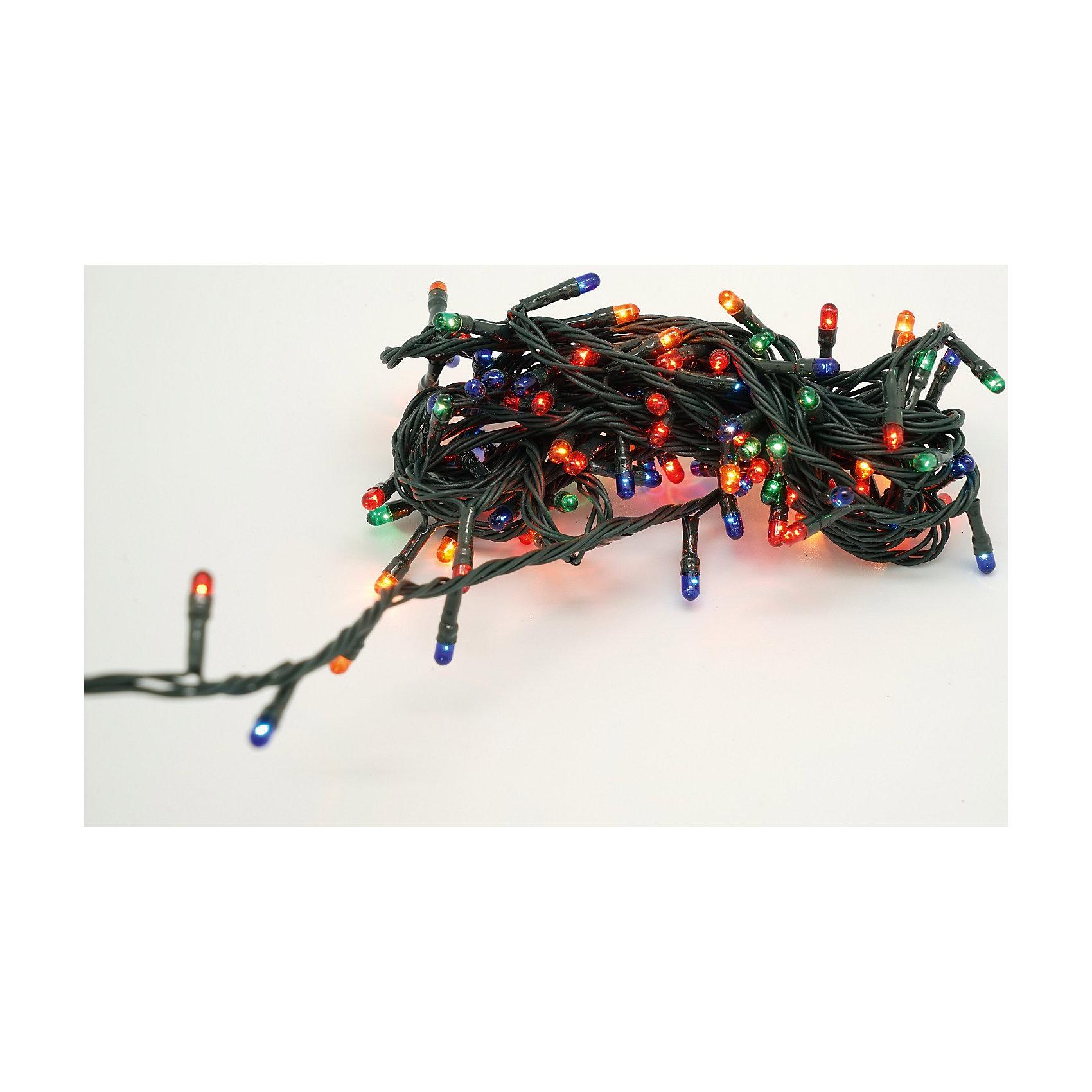 Яркий праздник Новогодняя электрическая гирлянда, 8 режимов на 180 лампочек (мощность 42 Вт, напряжение 220В)