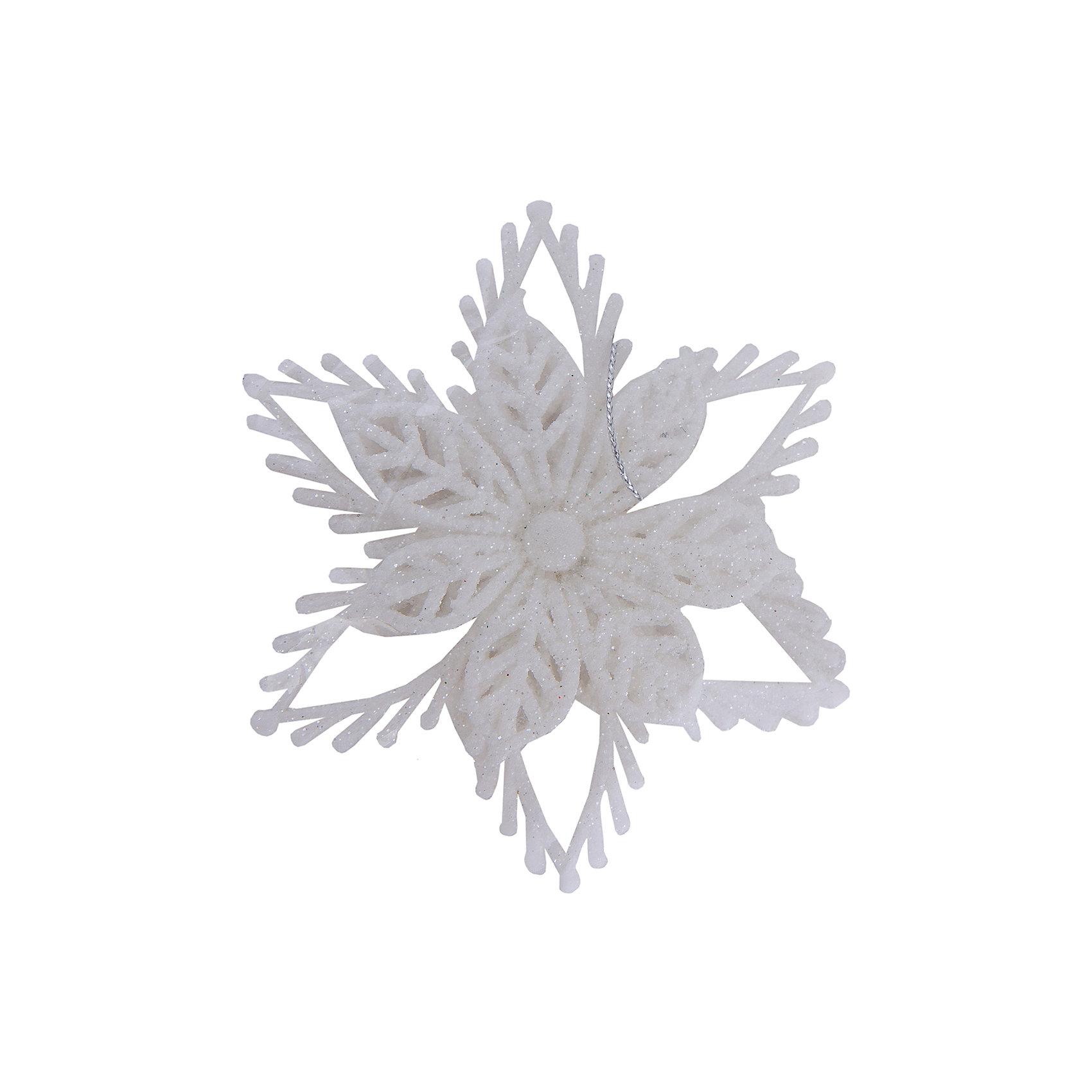 Декоративное подвесное украшение из пластика в глиттере Звезда объемнаяХарактеристики товара:<br><br>• материал: полистоун<br>• не бьётся<br>• в глиттере<br>• комплектация: 1 шт<br>• с подвесом<br>• для украшения интерьера или ёлки<br>• страна производства: Китай<br><br>Украшение ёлки и интерьера - любимое занятие детей и взрослых. Новогодний антураж трудно представить без сияющих подвесных украшений! Это изделие будет хорошо смотреться в окружении любой цветовой гаммы, оно качественно выполнено и нарядно выглядит. С помощью него можно оригинально декорировать квартиру к празднику или украсить ёлку, причем участвовать могут даже малыши - украшение не разобьется.<br>Такие небольшие детали и создают праздник! От них во многом зависит хорошее новогоднее настроение. Изделие производится из качественных сертифицированных материалов, безопасных даже для самых маленьких.<br><br>Декоративное подвесное украшение из пластика в глиттере Звезда объемная можно купить в нашем интернет-магазине.<br><br>Ширина мм: 100<br>Глубина мм: 100<br>Высота мм: 30<br>Вес г: 50<br>Возраст от месяцев: 72<br>Возраст до месяцев: 480<br>Пол: Унисекс<br>Возраст: Детский<br>SKU: 5051728