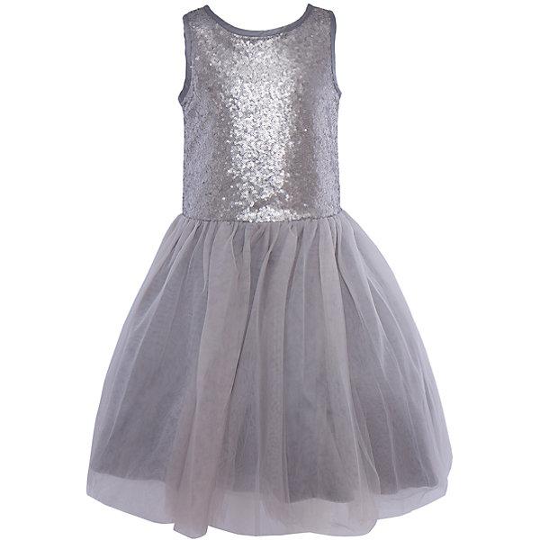 Нарядное платье для девочки LuminosoОдежда<br>Характеристики:<br><br>• Вид одежды: платье<br>• Предназначение: для праздника, торжеств<br>• Сезон: круглый год<br>• Материал: верх – 100% полиэстер; подкладка – 100% хлопок<br>• Цвет: серебристый, серый<br>• Силуэт: классический А-силуэт<br>• Длина платья: миди<br>• Стиль юбки: пачка<br>• Вырез горловины: круглый<br>• Застежка: молния на спинке<br>• Особенности ухода: ручная стирка без применения отбеливающих средств, глажение при низкой температуре <br><br>Luminoso – это коллекция от известного производителя Sweet Berry, который сочетает в своей одежде функциональность, качество, стиль и следование современным мировым тенденциям в текстильной индустрии для подростков. <br>Стильное платье для девочки от знаменитого производителя детской одежды Luminoso выполнено из полиэстера с хлопковой подкладкой. Изделие имеет классический силуэт с отрезной талией и многослойную юбку-пачку со шлейфом. Пышность и объем юбке придает подъюбник. Полочка оформлена пайетками серебристого цвета, вырез рукавов и горловины обработаны атласной лентой. Праздничное платье от Luminoso – это залог успеха вашего ребенка на любом торжестве!<br><br>Платье для девочки Luminoso можно купить в нашем интернет-магазине.<br><br>Ширина мм: 236<br>Глубина мм: 16<br>Высота мм: 184<br>Вес г: 177<br>Цвет: серый<br>Возраст от месяцев: 108<br>Возраст до месяцев: 120<br>Пол: Женский<br>Возраст: Детский<br>Размер: 140,134,164,158,152,146<br>SKU: 5052007