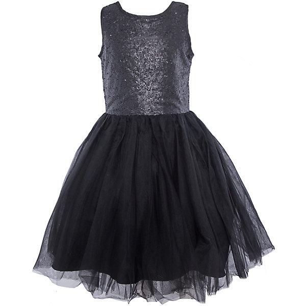 Нарядное платье для девочки LuminosoОдежда<br>Характеристики:<br><br>• Вид одежды: платье<br>• Предназначение: для праздника, торжеств<br>• Сезон: круглый год<br>• Материал: верх – 100% полиэстер; подкладка – 100% хлопок<br>• Цвет: черный<br>• Силуэт: классический А-силуэт<br>• Длина платья: миди<br>• Стиль юбки: пачка<br>• Вырез горловины: круглый<br>• Застежка: молния на спинке<br>• Особенности ухода: ручная стирка без применения отбеливающих средств, глажение при низкой температуре <br><br>Luminoso – это коллекция от известного производителя Sweet Berry, который сочетает в своей одежде функциональность, качество, стиль и следование современным мировым тенденциям в текстильной индустрии для подростков. <br>Стильное платье для девочки от знаменитого производителя детской одежды Luminoso выполнено из полиэстера с хлопковой подкладкой. Изделие имеет классический силуэт с отрезной талией и многослойную юбку-пачку со шлейфом. Пышность и объем юбке придает подъюбник. Полочка оформлена пайетками черного цвета, вырез рукавов и горловины обработаны атласной лентой. Праздничное платье от Luminoso – это залог успеха вашего ребенка на любом торжестве!<br><br>Платье для девочки Luminoso можно купить в нашем интернет-магазине.<br><br>Ширина мм: 236<br>Глубина мм: 16<br>Высота мм: 184<br>Вес г: 177<br>Цвет: черный<br>Возраст от месяцев: 96<br>Возраст до месяцев: 108<br>Пол: Женский<br>Возраст: Детский<br>Размер: 134,140,164,158,152,146<br>SKU: 5052014