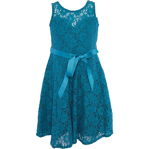 Нарядное платье для девочки LuminosoОдежда<br>Характеристики:<br><br>• Вид одежды: платье<br>• Предназначение: для праздника, торжеств<br>• Сезон: круглый год<br>• Материал: верх – 90% полиэстер, 10% эластан; подкладка – 95% хлопок, 5% эластан<br>• Цвет: цвет морской волны<br>• Силуэт: классический, прямой<br>• Длина: миди<br>• Вырез горловины: круглый<br>• Застежка: молния на спинке<br>• Особенности ухода: ручная стирка без применения отбеливающих средств, глажение при низкой температуре <br><br>Luminoso – это коллекция от известного производителя Sweet Berry, который сочетает в своей одежде функциональность, качество, стиль и следование современным мировым тенденциям в текстильной индустрии для подростков. <br>Кружевное платье для девочки от знаменитого производителя детской одежды Sweet Berry выполнено из полиэстера с хлопковым подкладка<br>ом. Изделие имеет классический прямой силуэт, полочку из кружева с фигурной подкладкой и застежку-молнию на спинке. Платье выполнено в модном оттенке цвета морской волны, в комплекте предусмотрен репсовый пояс. Праздничное платье от Luminoso – это залог успеха вашего ребенка на любом торжестве!<br><br>Платье для девочки Luminoso можно купить в нашем интернет-магазине.<br><br>Ширина мм: 236<br>Глубина мм: 16<br>Высота мм: 184<br>Вес г: 177<br>Цвет: голубой<br>Возраст от месяцев: 144<br>Возраст до месяцев: 156<br>Пол: Женский<br>Возраст: Детский<br>Размер: 158,152,146,140,134,164<br>SKU: 5052035