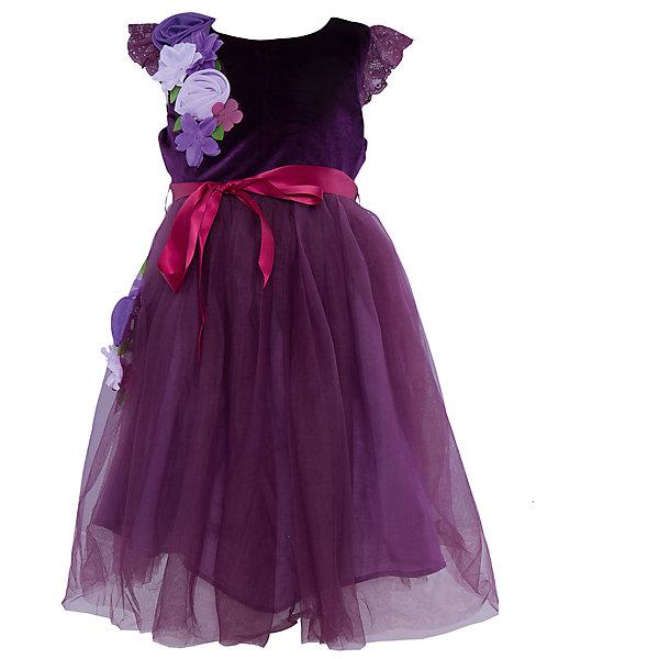 Нарядное платье для девочки Sweet BerryОдежда<br>Характеристики:<br><br>• Вид одежды: платье<br>• Предназначение: для праздника, торжеств<br>• Сезон: круглый год<br>• Материал: верх – 100% полиэстер; подкладка – 100% хлопок<br>• Цвет: сливовый, сиреневый<br>• Силуэт: А стиль<br>• Длина платья: макси<br>• Рукав: короткий, приспущенный<br>• Вырез горловины: круглый<br>• Застежка: молния на спинке<br>• Наличие пояса из атласной ленты<br>• Наличие декоративных текстильных цветов<br>• Особенности ухода: ручная стирка без применения отбеливающих средств, глажение при низкой температуре <br><br>Sweet Berry – это производитель, который сочетает в своей одежде функциональность, качество, стиль и следование современным мировым тенденциям в детской текстильной индустрии. <br>Праздничное платье сиренево-сливового цвета для девочки от знаменитого производителя детской одежды Sweet Berry выполнено из сочетания бархатного верха и пышной юбки из сетки. Имеет классический А силуэт, круглую горловину, короткий рукав, декорированный кружевом в тон платья. В комплекте с платьем предусмотрен поясок из яркой атласной ленты, который можно завязывать бантиком. Платье оформлено декоративными текстильными цветами, расположенными на юбке и плече. На спинке имеется застежка-молния до талии. Праздничные платья от Sweet Berry – это залог успеха вашего ребенка на любом торжестве!<br><br>Платье для девочки Sweet Berry можно купить в нашем интернет-магазине.<br><br>Ширина мм: 236<br>Глубина мм: 16<br>Высота мм: 184<br>Вес г: 177<br>Цвет: лиловый<br>Возраст от месяцев: 24<br>Возраст до месяцев: 36<br>Пол: Женский<br>Возраст: Детский<br>Размер: 98,104,128,122,116,110<br>SKU: 5052056