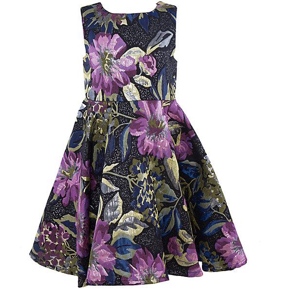 Нарядное платье для девочки Sweet BerryОдежда<br>Характеристики:<br><br>• Вид одежды: платье<br>• Предназначение: для праздника, торжеств<br>• Сезон: круглый год<br>• Материал: верх – 100% полиэстер; подкладка – 100% хлопок<br>• Цвет: лиловый, черный, синий, зеленый<br>• Силуэт: классический, с завышенной талией<br>• Длина: миди<br>• Вырез горловины: круглый<br>• Застежка: молния на спинке<br>• Особенности ухода: ручная стирка без применения отбеливающих средств, глажение при низкой температуре <br><br>Sweet Berry – это производитель, который сочетает в своей одежде функциональность, качество, стиль и следование современным мировым тенденциям в детской текстильной индустрии. <br>Платье для девочки от знаменитого производителя детской одежды Sweet Berry выполнено из полиэстера с хлопковым подкладкой. Изделие имеет классический силуэт с завышенной талией, круглую горловину, пышную юбку-солнце и застежку-молнию на спинке. Изделие выполнено из ткани, имеющей жаккардовый узор с цветочным рисунком. Платье сочетается с жакетом, выполненным из такого же материала. Праздничное платье от Sweet Berry – это залог успеха вашего ребенка на любом торжестве!<br><br>Платье для девочки Sweet Berry можно купить в нашем интернет-магазине.<br><br>Ширина мм: 236<br>Глубина мм: 16<br>Высота мм: 184<br>Вес г: 177<br>Цвет: лиловый<br>Возраст от месяцев: 24<br>Возраст до месяцев: 36<br>Пол: Женский<br>Возраст: Детский<br>Размер: 98,104,128,122,116,110<br>SKU: 5052070