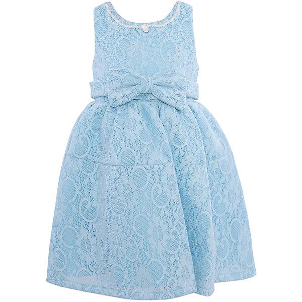 Нарядное платье для девочки Sweet BerryОдежда<br>Характеристики:<br><br>• Вид одежды: платье<br>• Предназначение: для праздника, торжеств<br>• Сезон: круглый год<br>• Материал: верх – 100% полиэстер; подкладка – 100% хлопок<br>• Цвет: голубой<br>• Силуэт: классический А-силуэт<br>• Длина платья: миди<br>• Вырез горловины: круглый<br>• Горловина декорирована бусинами и кулоном<br>• Наличие объемного пояса с декоративным бантом<br>• Застежка: молния на спинке<br>• Особенности ухода: ручная стирка без применения отбеливающих средств, глажение при низкой температуре <br><br>Sweet Berry – это производитель, который сочетает в своей одежде функциональность, качество, стиль и следование современным мировым тенденциям в детской текстильной индустрии. <br>Платье для девочки от знаменитого производителя детской одежды Sweet Berry выполнено из полиэстера с хлопковым подкладкой. Изделие имеет классический силуэт с отрезной талией и отрезной кокеткой у пышной юбки. Пышность юбке придает атласный подклад и подъюбник из сетки. Изделие выполнено из кружевной ткани нежно-голубого цвета, декорировано объемным поясом с декоративным бантом. Горловина оформлена бусинами в форме жемчужин и кулоном в форме капли. Праздничное платье от Sweet Berry – это залог успеха вашего ребенка на любом торжестве!<br><br>Платье для девочки Sweet Berry можно купить в нашем интернет-магазине.<br><br>Ширина мм: 236<br>Глубина мм: 16<br>Высота мм: 184<br>Вес г: 177<br>Цвет: голубой<br>Возраст от месяцев: 24<br>Возраст до месяцев: 36<br>Пол: Женский<br>Возраст: Детский<br>Размер: 98,104,128,122,116,110<br>SKU: 5052077
