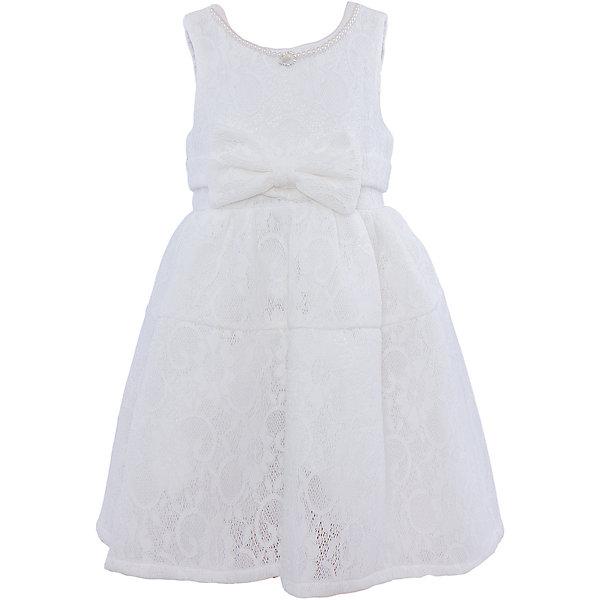 Нарядное платье для девочки Sweet BerryОдежда<br>Характеристики:<br><br>• Вид одежды: платье<br>• Предназначение: для праздника, торжеств<br>• Сезон: круглый год<br>• Материал: верх – 100% полиэстер; подкладка – 100% хлопок<br>• Цвет: белый<br>• Силуэт: классический А-силуэт<br>• Длина платья: миди<br>• Вырез горловины: круглый<br>• Горловина декорирована бусинами и кулоном<br>• Наличие объемного пояса с декоративным бантом<br>• Застежка: молния на спинке<br>• Особенности ухода: ручная стирка без применения отбеливающих средств, глажение при низкой температуре <br><br>Sweet Berry – это производитель, который сочетает в своей одежде функциональность, качество, стиль и следование современным мировым тенденциям в детской текстильной индустрии. <br>Платье для девочки от знаменитого производителя детской одежды Sweet Berry выполнено из полиэстера с хлопковым подкладкой. Изделие имеет классический силуэт с отрезной талией и отрезной кокеткой у пышной юбки. Пышность юбке придает атласный подклад и подъюбник из сетки. Изделие выполнено из кружевной ткани белого цвета, декорировано объемным поясом с декоративным бантом. Горловина оформлена бусинами в форме жемчужин и кулоном в форме капли. Праздничное платье от Sweet Berry – это залог успеха вашего ребенка на любом торжестве!<br><br>Платье для девочки Sweet Berry можно купить в нашем интернет-магазине.<br>Ширина мм: 236; Глубина мм: 16; Высота мм: 184; Вес г: 177; Цвет: белый; Возраст от месяцев: 24; Возраст до месяцев: 36; Пол: Женский; Возраст: Детский; Размер: 98,104,128,122,116,110; SKU: 5052084;