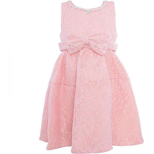 Нарядное платье для девочки Sweet BerryОдежда<br>Характеристики:<br><br>• Вид одежды: платье<br>• Предназначение: для праздника, торжеств<br>• Сезон: круглый год<br>• Материал: верх – 100% полиэстер; подкладка – 100% хлопок<br>• Цвет: пудровый <br>• Силуэт: классический А-силуэт<br>• Длина платья: миди<br>• Вырез горловины: круглый<br>• Горловина декорирована бусинами и кулоном<br>• Наличие объемного пояса с декоративным бантом<br>• Застежка: молния на спинке<br>• Особенности ухода: ручная стирка без применения отбеливающих средств, глажение при низкой температуре <br><br>Sweet Berry – это производитель, который сочетает в своей одежде функциональность, качество, стиль и следование современным мировым тенденциям в детской текстильной индустрии. <br>Платье для девочки от знаменитого производителя детской одежды Sweet Berry выполнено из полиэстера с хлопковым подкладкой. Изделие имеет классический силуэт с отрезной талией и отрезной кокеткой у пышной юбки. Пышность юбке придает атласный подклад и подъюбник из сетки. Изделие выполнено из кружевной ткани пудрового оттенка, декорировано объемным поясом с декоративным бантом. Горловина оформлена бусинами в форме жемчужин и кулоном в форме капли. Праздничное платье от Sweet Berry – это залог успеха вашего ребенка на любом торжестве!<br><br>Платье для девочки Sweet Berry можно купить в нашем интернет-магазине.<br>Ширина мм: 236; Глубина мм: 16; Высота мм: 184; Вес г: 177; Цвет: бежевый; Возраст от месяцев: 36; Возраст до месяцев: 48; Пол: Женский; Возраст: Детский; Размер: 104,98,110,116,122,128; SKU: 5052091;