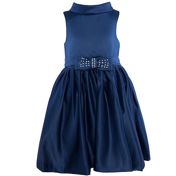 Нарядное платье для девочки Sweet BerryОдежда<br>Характеристики:<br><br>• Вид одежды: платье<br>• Предназначение: для праздника, торжеств<br>• Сезон: круглый год<br>• Материал: верх – 100% полиэстер; подкладка – 100% хлопок<br>• Цвет: синий<br>• Силуэт: классический А-силуэт<br>• Длина платья: миди<br>• Вырез горловины: круглый<br>• Воротник: хомут мягкий<br>• Наличие объемного пояса с 2-мя декоративными бантами<br>• Застежка: молния на спинке<br>• Особенности ухода: ручная стирка без применения отбеливающих средств, глажение при низкой температуре <br><br>Sweet Berry – это производитель, который сочетает в своей одежде функциональность, качество, стиль и следование современным мировым тенденциям в детской текстильной индустрии. <br>Платье для девочки от знаменитого производителя детской одежды Sweet Berry выполнено из полиэстера с хлопковым подкладкой. Изделие имеет классический силуэт с отрезной талией и пышной юбкой. Пышность юбке придает подъюбник из сетки. Изделие выполнено из атласной ткани модного синего оттенка с воротником в форме мягкого хомута. В комплекте имеется пояс с двумя декоративными бантами: спереди небольшой бантик, оформленный стразами, сзади – большой объемный бант. Праздничное платье от Sweet Berry – это залог успеха вашего ребенка на любом торжестве!<br><br>Платье для девочки Sweet Berry можно купить в нашем интернет-магазине.<br><br>Ширина мм: 236<br>Глубина мм: 16<br>Высота мм: 184<br>Вес г: 177<br>Цвет: синий<br>Возраст от месяцев: 60<br>Возраст до месяцев: 72<br>Пол: Женский<br>Возраст: Детский<br>Размер: 116,110,98,104,128,122<br>SKU: 5052098