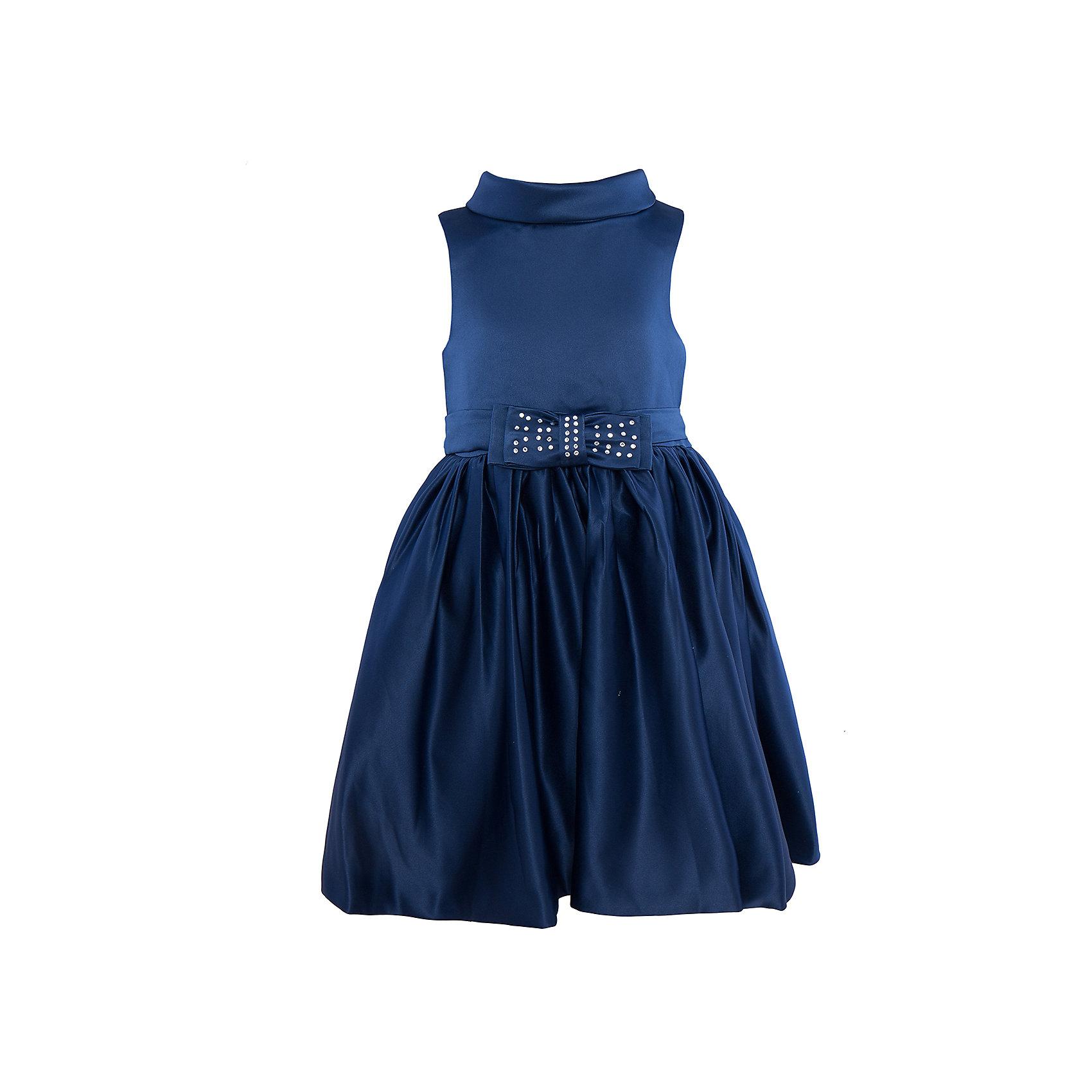 Нарядное платье для девочки Sweet BerryОдежда<br>Характеристики:<br><br>• Вид одежды: платье<br>• Предназначение: для праздника, торжеств<br>• Сезон: круглый год<br>• Материал: верх – 100% полиэстер; подкладка – 100% хлопок<br>• Цвет: синий<br>• Силуэт: классический А-силуэт<br>• Длина платья: миди<br>• Вырез горловины: круглый<br>• Воротник: хомут мягкий<br>• Наличие объемного пояса с 2-мя декоративными бантами<br>• Застежка: молния на спинке<br>• Особенности ухода: ручная стирка без применения отбеливающих средств, глажение при низкой температуре <br><br>Sweet Berry – это производитель, который сочетает в своей одежде функциональность, качество, стиль и следование современным мировым тенденциям в детской текстильной индустрии. <br>Платье для девочки от знаменитого производителя детской одежды Sweet Berry выполнено из полиэстера с хлопковым подкладкой. Изделие имеет классический силуэт с отрезной талией и пышной юбкой. Пышность юбке придает подъюбник из сетки. Изделие выполнено из атласной ткани модного синего оттенка с воротником в форме мягкого хомута. В комплекте имеется пояс с двумя декоративными бантами: спереди небольшой бантик, оформленный стразами, сзади – большой объемный бант. Праздничное платье от Sweet Berry – это залог успеха вашего ребенка на любом торжестве!<br><br>Платье для девочки Sweet Berry можно купить в нашем интернет-магазине.<br><br>Ширина мм: 236<br>Глубина мм: 16<br>Высота мм: 184<br>Вес г: 177<br>Цвет: синий<br>Возраст от месяцев: 36<br>Возраст до месяцев: 48<br>Пол: Женский<br>Возраст: Детский<br>Размер: 104,98,110,116,122,128<br>SKU: 5052098