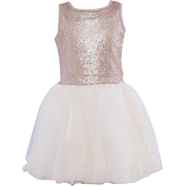 Купить Нарядное платье для девочки Sweet Berry, Китай, бежевый, 98, 104, 128, 122, 116, 110, Женский