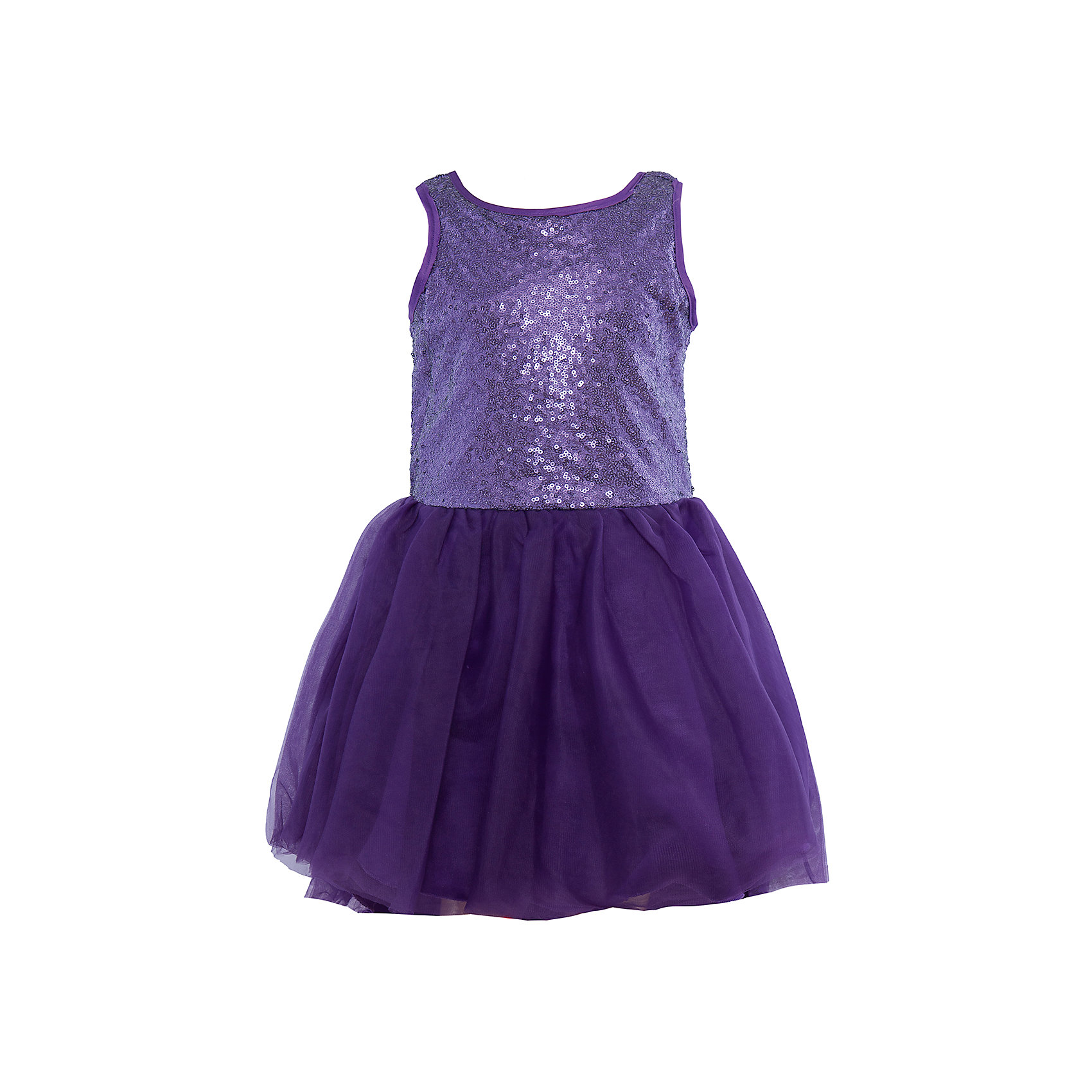Нарядное платье для девочки Sweet BerryОдежда<br>Характеристики:<br><br>• Вид одежды: платье<br>• Предназначение: для праздника, торжеств<br>• Сезон: круглый год<br>• Материал: верх – 100% полиэстер; подкладка – 100% хлопок<br>• Цвет: фиолетовый<br>• Силуэт: классический А-силуэт<br>• Длина платья: миди<br>• Стиль юбки: пачка<br>• Вырез горловины: круглый<br>• Застежка: молния на спинке<br>• Особенности ухода: ручная стирка без применения отбеливающих средств, глажение при низкой температуре <br><br>Sweet Berry – это производитель, который сочетает в своей одежде функциональность, качество, стиль и следование современным мировым тенденциям в детской текстильной индустрии. <br>Стильное платье для девочки от знаменитого производителя детской одежды Sweet Berry выполнено из полиэстера с хлопковой подкладкой. Изделие имеет классический силуэт с отрезной талией и многослойную юбку-пачку со шлейфом. Пышность и объем юбке придает подъюбник. Полочка оформлена пайетками фиолетового цвета, вырез рукавов и горловины обработаны атласной лентой. Праздничное платье от Sweet Berry – это залог успеха вашего ребенка на любом торжестве!<br><br>Платье для девочки Sweet Berry можно купить в нашем интернет-магазине.<br><br>Ширина мм: 236<br>Глубина мм: 16<br>Высота мм: 184<br>Вес г: 177<br>Цвет: фиолетовый<br>Возраст от месяцев: 60<br>Возраст до месяцев: 72<br>Пол: Женский<br>Возраст: Детский<br>Размер: 110,98,116,104,128,122<br>SKU: 5052154