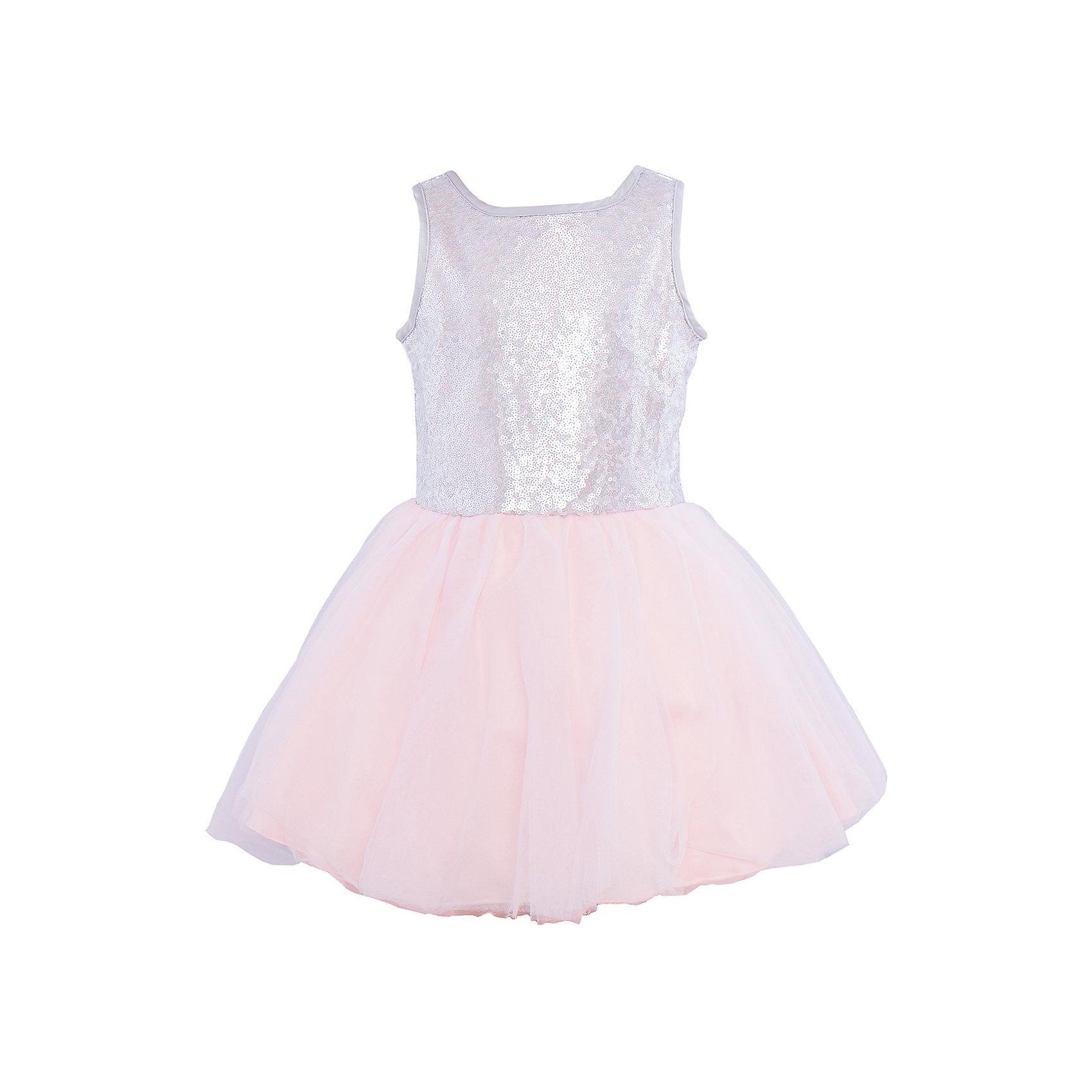 Нарядное платье для девочки Sweet BerryОдежда<br>Характеристики:<br><br>• Вид одежды: платье<br>• Предназначение: для праздника, торжеств<br>• Сезон: круглый год<br>• Материал: верх – 100% полиэстер; подкладка – 100% хлопок<br>• Цвет: серебристый, розовый<br>• Силуэт: классический А-силуэт<br>• Длина платья: миди<br>• Стиль юбки: пачка<br>• Вырез горловины: круглый<br>• Застежка: молния на спинке<br>• Особенности ухода: ручная стирка без применения отбеливающих средств, глажение при низкой температуре <br><br>Sweet Berry – это производитель, который сочетает в своей одежде функциональность, качество, стиль и следование современным мировым тенденциям в детской текстильной индустрии. <br>Стильное платье для девочки от знаменитого производителя детской одежды Sweet Berry выполнено из полиэстера с хлопковой подкладкой. Изделие имеет классический силуэт с отрезной талией и многослойную юбку-пачку со шлейфом. Пышность и объем юбке придает подъюбник. Полочка оформлена пайетками серебристого цвета, вырез рукавов и горловины обработаны атласной лентой. Праздничное платье от Sweet Berry – это залог успеха вашего ребенка на любом торжестве!<br><br>Платье для девочки Sweet Berry можно купить в нашем интернет-магазине.<br><br>Ширина мм: 236<br>Глубина мм: 16<br>Высота мм: 184<br>Вес г: 177<br>Цвет: розовый<br>Возраст от месяцев: 36<br>Возраст до месяцев: 48<br>Пол: Женский<br>Возраст: Детский<br>Размер: 104,98,110,116,122,128<br>SKU: 5052168