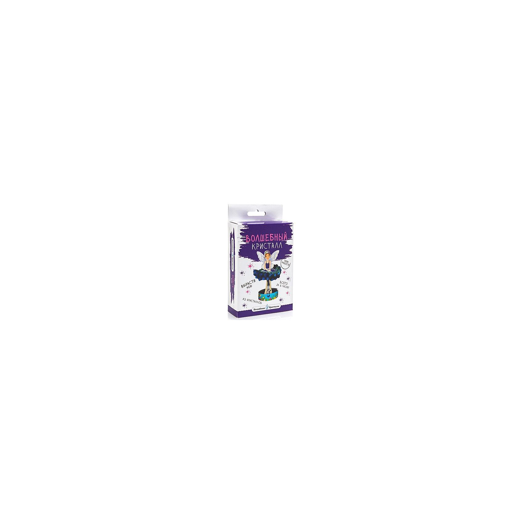 Научный набор Волшебный кристалл - Фея БумбарамВыращивание кристаллов<br>Волшебные кристаллы Фея голубая, Бумбарам.<br><br>Характеристики:<br><br>• интересный эксперимент с выращиванием кристаллов<br>• яркий цвет<br>• пошаговая инструкция<br>• прост в использовании<br>• безопасен для детей<br>• пошаговая инструкция в комплекте<br>• размер упаковки: 16,5х10х3 см<br>• вес: 50 грамм<br>• цвет: голубой<br>• готовую поделку рекомендуется покрыть лаком<br><br>С набором Волшебные кристаллы. Фея ребенок сможет создать прекрасную фею с очаровательной юбкой. Для этого нужно установить каркас феи на подставку и добавить специальный раствор. Уже через 6 часов юбка феи станет очень пышной, чем непременно порадует любителей прекрасного. Волшебная фея станет превосходным дополнением к детской комнате!<br><br>Волшебные кристаллы Фея голубая, Бумбарам можно купить в нашем интернет-магазине.<br><br>Ширина мм: 170<br>Глубина мм: 100<br>Высота мм: 30<br>Вес г: 50<br>Возраст от месяцев: 72<br>Возраст до месяцев: 144<br>Пол: Женский<br>Возраст: Детский<br>SKU: 5053927