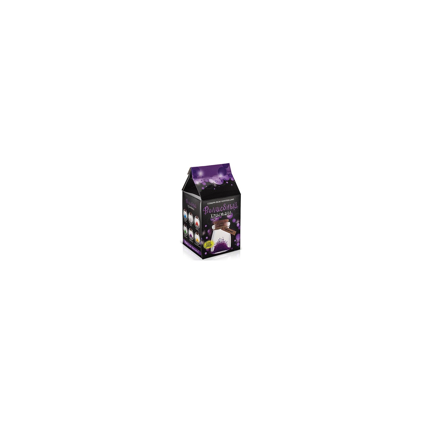Набор для выращивания кристаллов Кристалл с пожеланием Гармонии БумбарамКристалл с пожеланием Гармонии, Бумбарам.<br><br>Характеристики:<br><br>• кристалл в красивой подарочной упаковке<br>• этикетка с пожеланием<br>• легко создать<br>• безопасные материалы<br>• пошаговая инструкция<br>• в наборе: баночка, кристаллический порошок, кристаллическая таблетка, палочка, веревочка, пробка, карточка, инструкция<br>• размер упаковки: 15х8 см<br>• вес: 250 грамм<br>• цвет: фиолетовый<br><br>Хотите создать оригинальный подарок своими руками? Кристалл с пожеланием Гармонии отлично справится с этой задачей. Этот набор безопасен и очень прост в использовании. Всыпьте порошок в баночку, добавьте воды, тщательно перемешайте и опустите в готовый раствор таблетку. Через 14 часов можно открыть крышку и уже через некоторое время прекрасная композиция будет готова. Вам останется только закрыть крышку и прикрепить веревочку с карточкой. Химический опыт закончен - прекрасный подарок готов!<br><br>Кристалл с пожеланием Гармонии, Бумбарам вы можете купить в нашем интернет-магазине.<br><br>Ширина мм: 75<br>Глубина мм: 75<br>Высота мм: 150<br>Вес г: 250<br>Возраст от месяцев: 168<br>Возраст до месяцев: 240<br>Пол: Унисекс<br>Возраст: Детский<br>SKU: 5053942