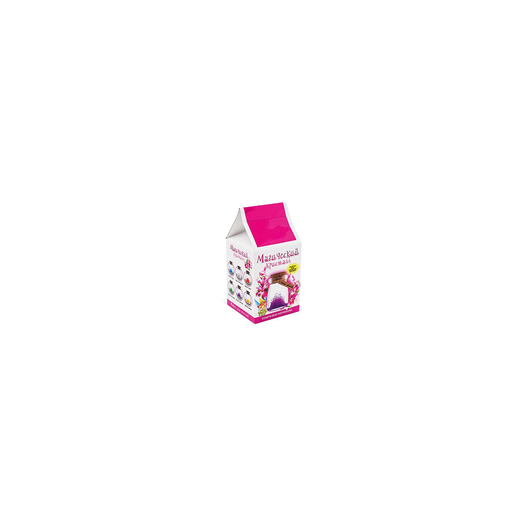 Набор для выращивания кристаллов Магический кристалл. Магия цветов БумбарамВыращивание кристаллов<br>Магический кристалл Магия цветов, Бумбарам. <br><br>Характеристики:<br><br>• красивый цвет кристалла соответствует цвету стихии<br>• прост в использовании<br>• пошаговая инструкция<br>• безопасные материалы<br>• привлекательная упаковка <br>• можно следить за процессом<br>• в наборе: баночка, кристаллический порошок, кристаллическая таблетка, палочка, веревочка, пробка, карточка, инструкция<br>• размер упаковки: 15х8 см<br>• вес: 250 грамм<br>• цвет: синий<br><br>Если ваш ребенок любит волшебные эксперименты, то он обязательно должен познакомиться с набором Магический кристалл Магия цветов. С его помощью можно вырастить красивый кристалл в домашних условиях. Процесс создания кристалла очень прост, а материалы полностью безопасны. Выращивание кристалла происходит в прозрачной баночке, благодаря чему вы все время сможете наблюдать за ростом кристалликов. В результате такого творчества у ребенка получится прекрасная композиция, соответствующая тематике. Кристалл очень красиво смотрится в баночке, благодаря чему станет отличным подарком или украшением для комнаты.<br><br>Магический кристалл Магия цветов, Бумбарам вы можете купить в нашем интернет-магазине.<br><br>Ширина мм: 75<br>Глубина мм: 75<br>Высота мм: 150<br>Вес г: 250<br>Возраст от месяцев: 168<br>Возраст до месяцев: 240<br>Пол: Унисекс<br>Возраст: Детский<br>SKU: 5053948