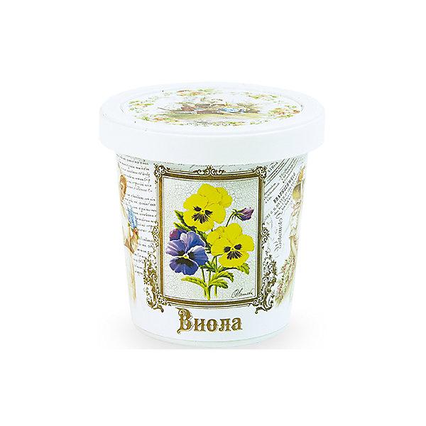 Набор для выращивания Виола Rostok VisaВыращивание растений<br>Виола, Rostok Visa.<br><br>Характеристики:<br><br>• вы сможете выращивать растения у себя дома<br>• экологически чистая продукция<br>• не содержит химикаты<br>• отличная всхожесть<br>• приятный дизайн<br>• в комплекте: горшочек, пакет с семенами, грунт, инструкция<br>• размер упаковки: 7,5х7,5х12 см<br>• вес: 275 грамм<br><br>Набор для выращивания Виола поможет вам вырастить цветы в уютном горшочке у себя дома. Экологически чистая и качественная продукция гарантирует высокую всхожесть. Красивый цветок приятно дополнит вашу комнату.<br><br>Набор Виола, Rostok Visa можно приобрести в нашем интернет-магазине.<br>Ширина мм: 120; Глубина мм: 75; Высота мм: 75; Вес г: 267; Возраст от месяцев: 168; Возраст до месяцев: 240; Пол: Унисекс; Возраст: Детский; SKU: 5053981;