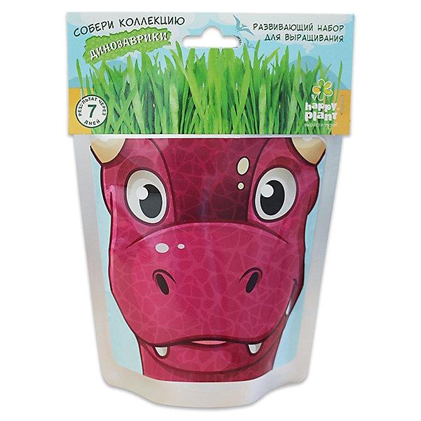 Набор для выращивания Динозаврик - Карни Happy PlantВыращивание растений<br>Happy Plant Динозаврик Карни.<br><br>Характеристики:<br><br>• научит ребенка выращивать растения и ухаживать за ними<br>• развивает фантазию <br>• яркий оригинальный дизайн<br>• качественные семена<br>• в комплекте: пакет-горшочек, органический субстрат для посадки, семена, лопатка, инструкция<br>• размер: 18х13 см<br>• объем: 500 мл<br>• Вес: 230 грамм<br><br>Веселый динозаврик Карни научит ребенка выращивать растения и ухаживать за ними. Волосы-травка получается очень густая. Благодаря этому вы сможете подстригать динозаврика и делать ему различные прически. Прекрасный подарок юным садоводам!<br><br>Happy Plant Динозаврик Карни, Вы можете купить в нашем интернет-магазине.<br>Ширина мм: 180; Глубина мм: 130; Высота мм: 80; Вес г: 230; Возраст от месяцев: 168; Возраст до месяцев: 240; Пол: Унисекс; Возраст: Детский; SKU: 5053998;