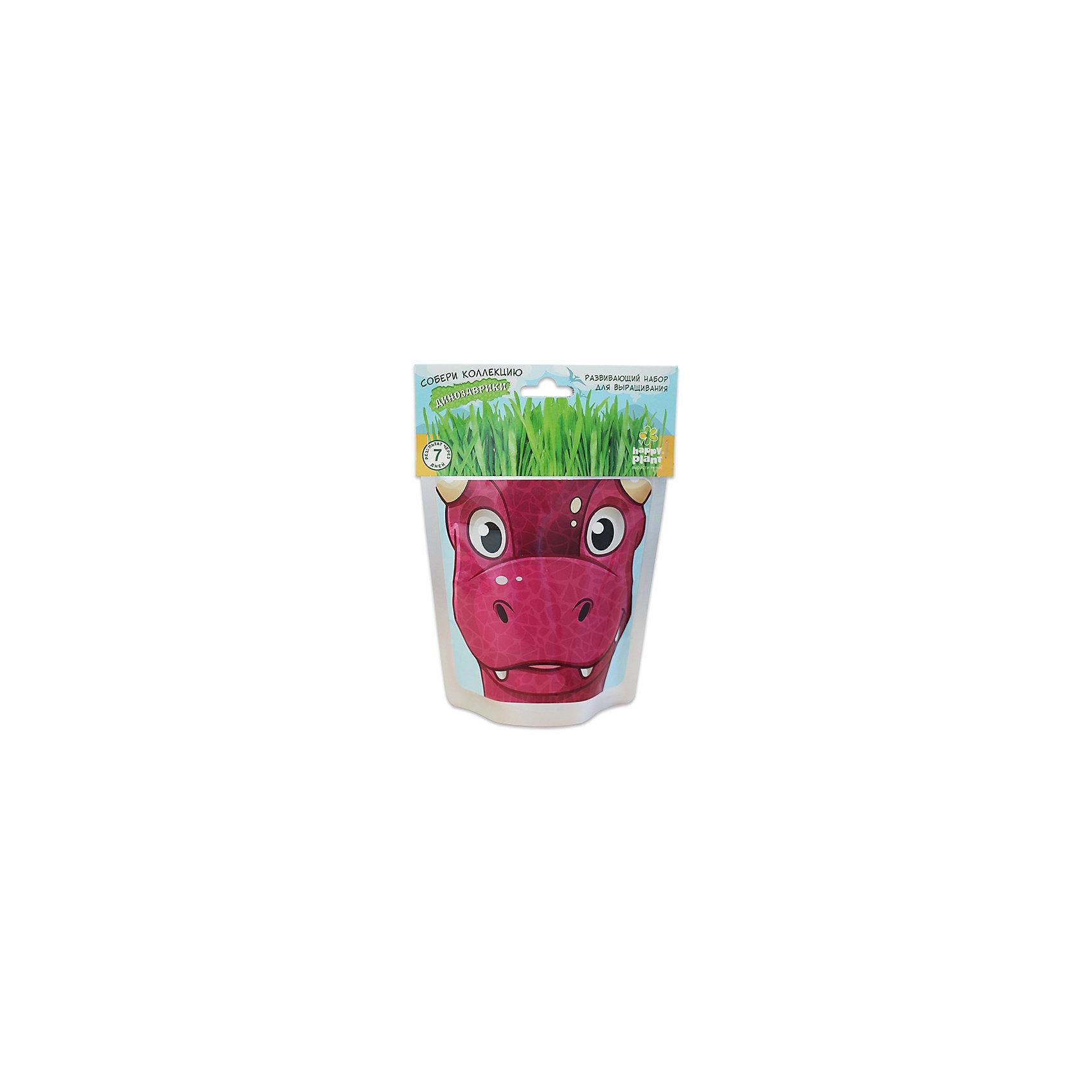 Набор для выращивания Динозаврик - Карни Happy PlantHappy Plant Динозаврик Карни.<br><br>Характеристики:<br><br>• научит ребенка выращивать растения и ухаживать за ними<br>• развивает фантазию <br>• яркий оригинальный дизайн<br>• качественные семена<br>• в комплекте: пакет-горшочек, органический субстрат для посадки, семена, лопатка, инструкция<br>• размер: 18х13 см<br>• объем: 500 мл<br>• Вес: 230 грамм<br><br>Веселый динозаврик Карни научит ребенка выращивать растения и ухаживать за ними. Волосы-травка получается очень густая. Благодаря этому вы сможете подстригать динозаврика и делать ему различные прически. Прекрасный подарок юным садоводам!<br><br>Happy Plant Динозаврик Карни, Вы можете купить в нашем интернет-магазине.<br><br>Ширина мм: 180<br>Глубина мм: 130<br>Высота мм: 80<br>Вес г: 230<br>Возраст от месяцев: 168<br>Возраст до месяцев: 240<br>Пол: Унисекс<br>Возраст: Детский<br>SKU: 5053998