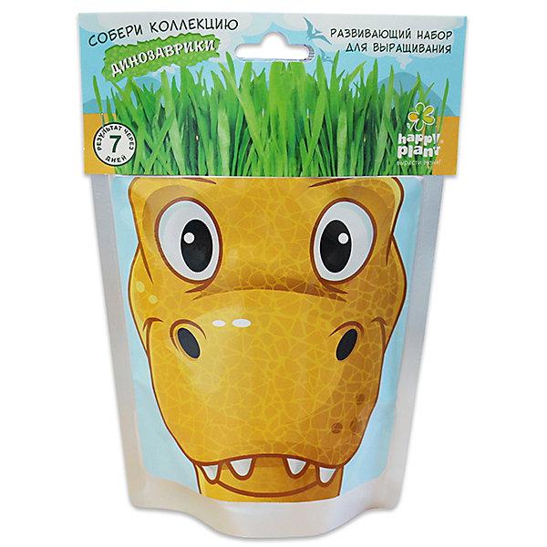 Набор для выращивания Динозаврики - Рекси Happy PlantВыращивание растений<br>Happy Plant Динозаврик Рекси.<br><br>Характеристики:<br><br>• научит ребенка выращивать растения и ухаживать за ними<br>• развивает фантазию <br>• яркий оригинальный дизайн<br>• качественные семена<br>• в комплекте: пакет-горшочек, органический субстрат для посадки, семена, лопатка, инструкция<br>• размер: 18х13 см<br>• объем: 500 мл<br>• Вес: 230 грамм<br><br>Веселый динозаврик Рекси научит ребенка выращивать растения и ухаживать за ними. Волосы-травка получается очень густая. Благодаря этому вы сможете подстригать динозаврика и делать ему различные прически. Прекрасный подарок юным садоводам!<br><br>Happy Plant Динозаврик Рекси, Вы можете купить в нашем интернет-магазине.<br><br>Ширина мм: 180<br>Глубина мм: 130<br>Высота мм: 80<br>Вес г: 230<br>Возраст от месяцев: 168<br>Возраст до месяцев: 240<br>Пол: Унисекс<br>Возраст: Детский<br>SKU: 5053999
