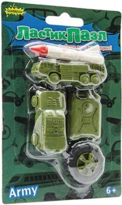 Набор Ластики-Пазлы - Военная техника Бумбарам