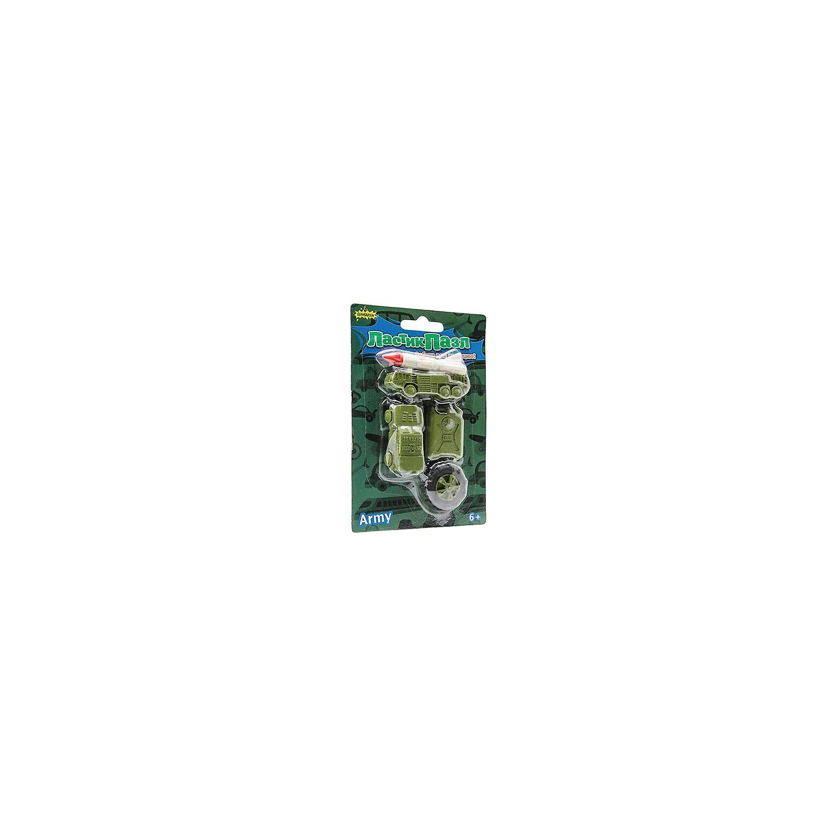 Бумбарам Набор Ластики-Пазлы - Военная техника Бумбарам бумбарам набор ластиков пазлов закуски бумбарам