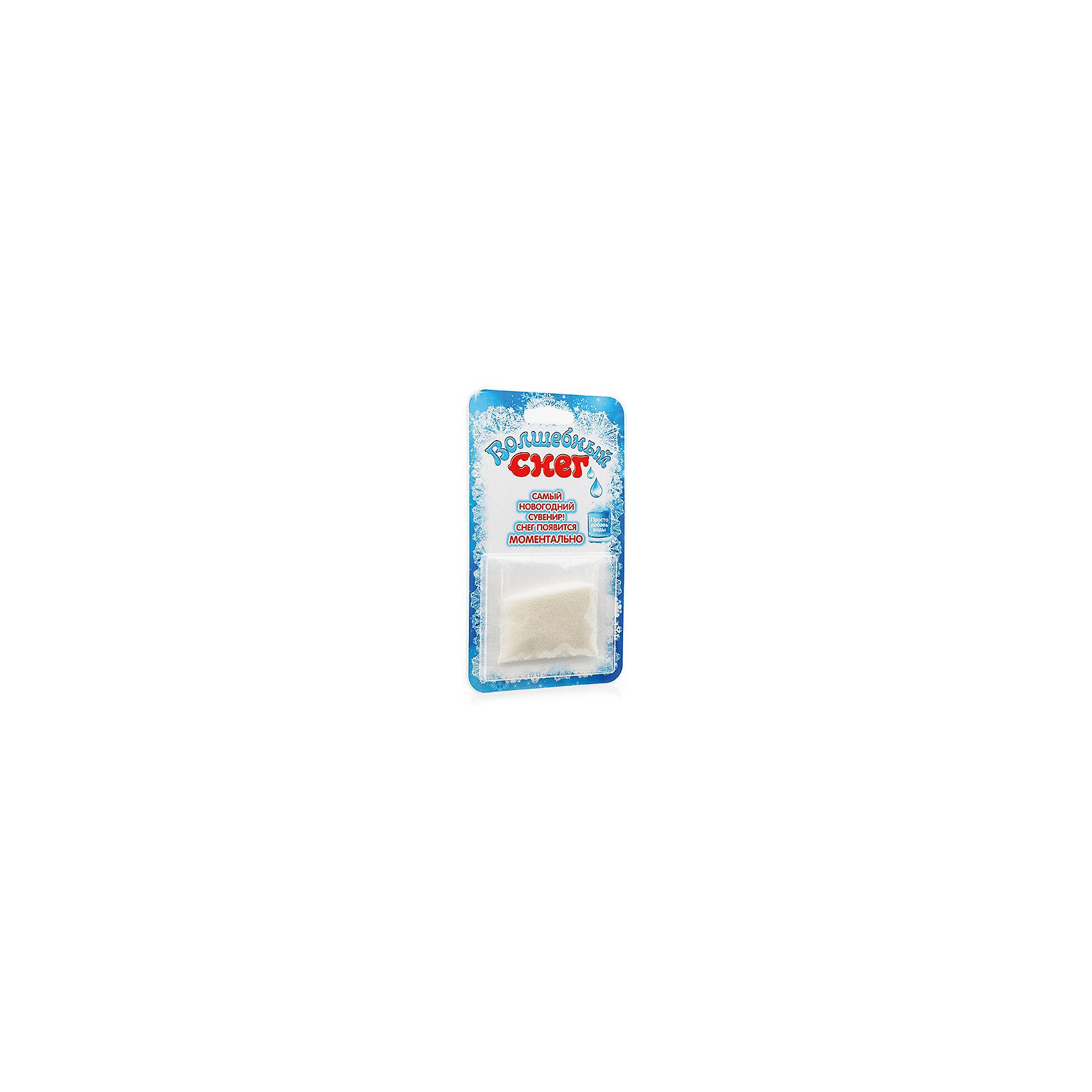 Набор химика Волшебный снег, голубой, 10 г БумбарамВсё для праздника<br>Волшебный снег 10 г Блистер голубой, Бумбарам<br><br>Характеристики:<br><br>• очень похож на настоящий снег<br>• подходит для украшения помещения<br>• можно красить <br>• полностью безопасен<br>• в комплекте: пакетик с порошком<br>• материал: полимер<br>• размер упаковки: 17х10 см <br>• вес: 55 грамм<br><br>Главный спутник зимы - снег. Вы можете получить его дома, лишь добавив воды в специальный порошок. Этот снег очень похож на настоящий. Он тоже холодный и влажный, но, в отличии от настоящего снега, искусственный не растает и не образует неприятную лужу на столе. Волшебный снег отлично подойдет для декорирования помещения или елки.<br><br>Волшебный снег 10 г Блистер голубой, Бумбарам вы можете приобрести в нашем интернет-магазине.<br><br>Ширина мм: 170<br>Глубина мм: 95<br>Высота мм: 10<br>Вес г: 55<br>Возраст от месяцев: 168<br>Возраст до месяцев: 240<br>Пол: Унисекс<br>Возраст: Детский<br>SKU: 5054034