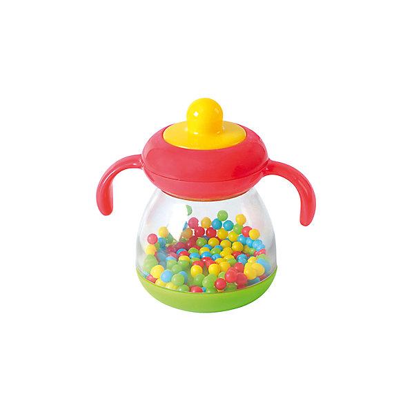 Развивающая игрушка Бутылочка c шариками, PlaygoИгрушки для новорожденных<br>Развивающая игрушка Бутылочка c шариками, Playgo<br><br>Характеристики:<br>- Материал: пластик<br>- В комплект входит: игрушка <br>- Размер упаковки: 16 * 6 * 18 см.<br>- Вес: 120 гр.<br>Игрушка бутылочка с шариками от известного китайского бренда развивающих игрушек для детей Playgo (Плейго) станет прекрасным подарком для крохи. Маленькие цветные шарики прыгают во все стороны и гремят как погремушка, если потрясти бутылочку. Прочный противоударный высококачественный пластик прослужит долго, а сама игрушка поможет развить тактильные ощущения, звуковое восприятие, воображение, световое восприятие и моторику ручек. Небольшой размер позволит брать веселую игрушку на прогулку или в поездку.<br>Развивающую игрушку Бутылочка c шариками, Playgo (Плейго) можно купить в нашем интернет-магазине.<br>Подробнее:<br>• Для детей в возрасте: от 0 до 18 месяцев <br>• Номер товара: 5054061<br>Страна производитель: Китай<br><br>Ширина мм: 150<br>Глубина мм: 150<br>Высота мм: 60<br>Вес г: 130<br>Возраст от месяцев: 6<br>Возраст до месяцев: 24<br>Пол: Унисекс<br>Возраст: Детский<br>SKU: 5054061