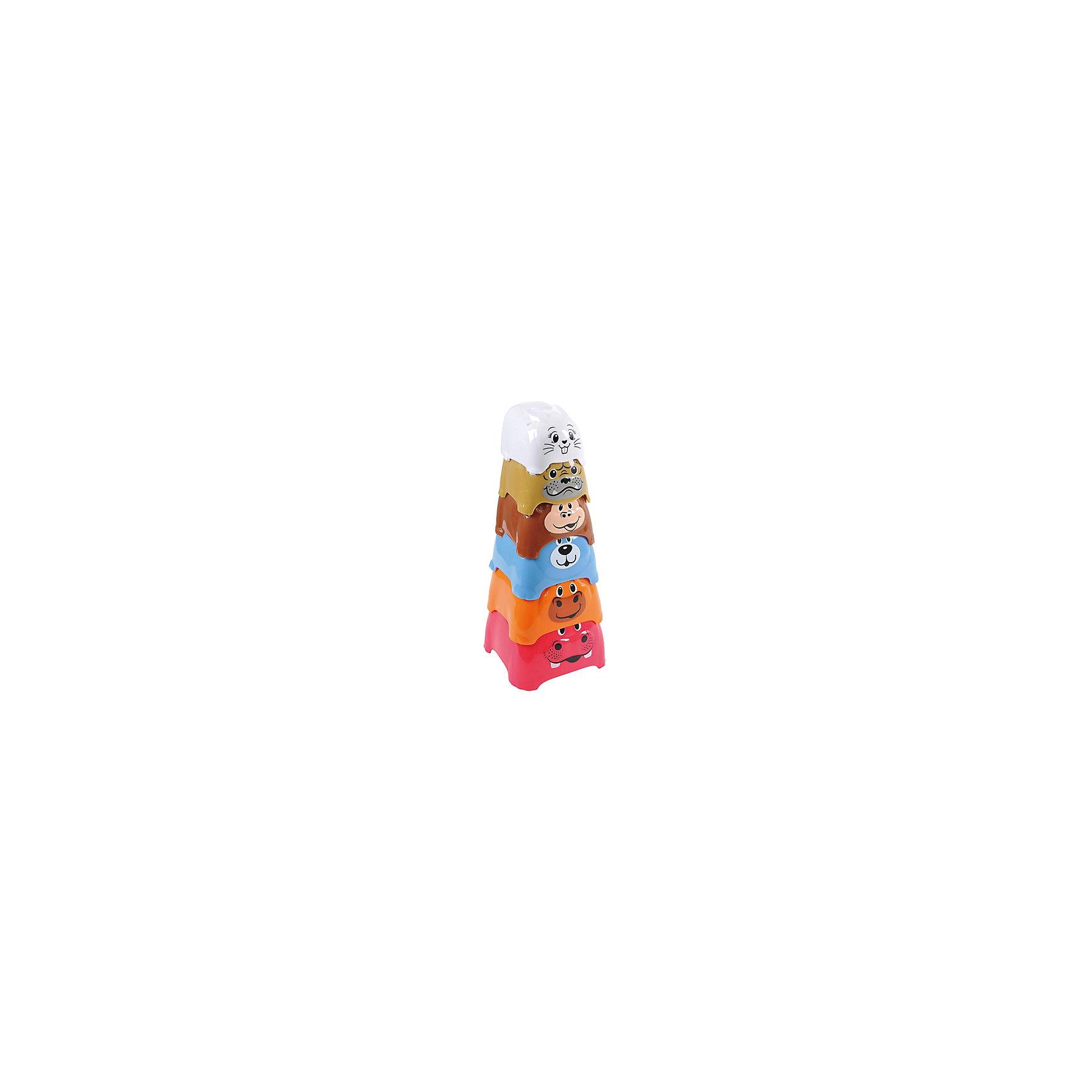 Активный игровой центр Пирамида c животными, PlaygoАктивный игровой центр Пирамида c животными, Playgo<br><br>Характеристики:<br>- В набор входит: один игровой центр <br>- Материал: пластик<br>- Размер: 10 * 25 * 10 см.<br>Активный игровой центр Пирамида c животными от известного китайского бренда развивающих игрушек для детей Playgo (Плейго) станет прекрасным подарком для крохи. Нестандартный вариант пирамидки развлечет ребенка и поможет ему выучить животных, играя с ними. Начиная от крошечного зайки и до большого моржа животные надеваются один на один и также легко складываются для удобного хранения. Изготовленная из качественного пластика, разноцветная игрушка способствует развитию логики, тактильных ощущений, воображения, цветового восприятия и моторики ручек. Небольшой размер позволит брать эту игрушку на прогулку, в песочницу и в поездку.<br>Активный игровой центр Пирамида c животными, Playgo (Плейго) можно купить в нашем интернет-магазине.<br>Подробнее:<br>• Для детей в возрасте: от 12 до 36 месяцев<br>• Номер товара: 5054071<br>Страна производитель: Китай<br><br>Ширина мм: 120<br>Глубина мм: 120<br>Высота мм: 270<br>Вес г: 180<br>Возраст от месяцев: 12<br>Возраст до месяцев: 36<br>Пол: Унисекс<br>Возраст: Детский<br>SKU: 5054071