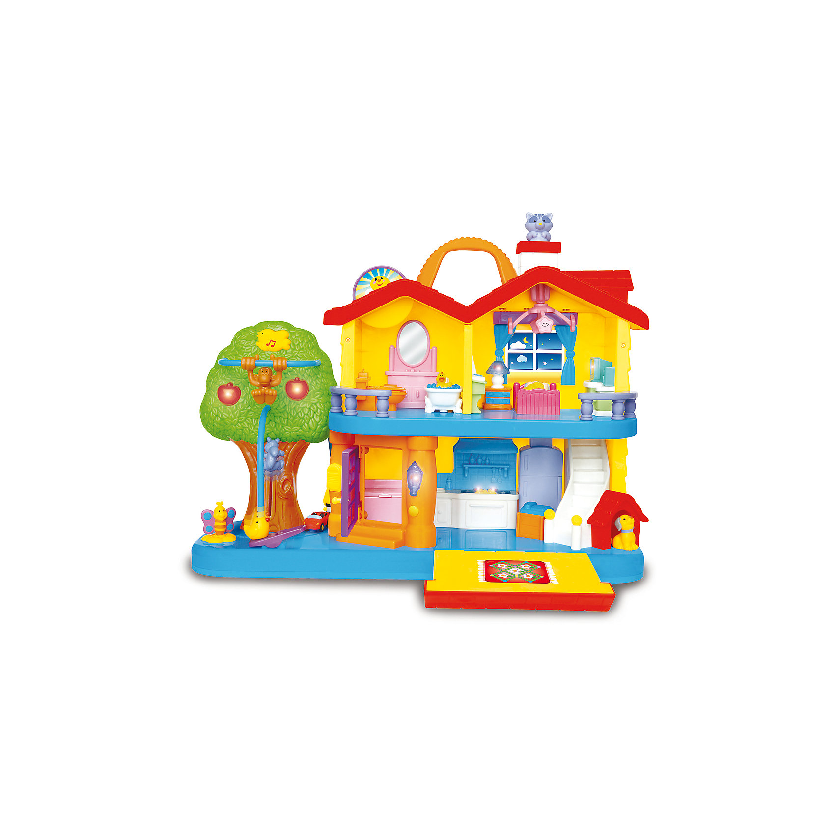 Kiddieland Развивающая игрушка Занимательный дом, Kiddieland все для дома