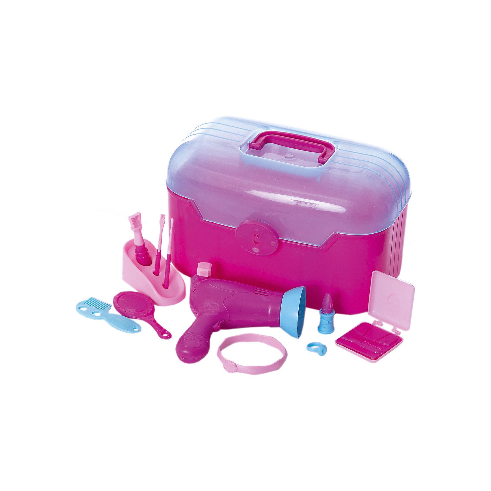 Чемоданчик красоты Холодное сердце, BildoЧемоданчик красоты Холодное сердце, Bildo.<br><br>Характеристики:<br><br>- В наборе: 14 аксессуаров<br>- Материал: пластик<br><br>В чемоданчик красоты Холодное сердце, входит 14 аксессуаров для реалистичной игры, включая расческу, зеркало, фен, кольца и имитацию макияжа. Великолепный набор чемоданчик красоты Холодное сердце от Bildo не даст вашей девочке заскучать и позволит ей почувствовать себя настоящим стилистом. Все элементы набора изготовлены из качественного безопасного пластика.<br><br>Чемоданчик красоты Холодное сердце, Bildo можно купить в нашем интернет-магазине.<br><br>Ширина мм: 260<br>Глубина мм: 190<br>Высота мм: 170<br>Вес г: 420<br>Возраст от месяцев: 36<br>Возраст до месяцев: 60<br>Пол: Женский<br>Возраст: Детский<br>SKU: 5054123