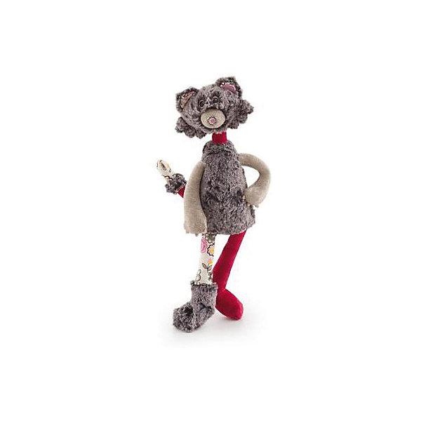 Кот Берлиоз, 33 см, TrudiМягкие игрушки животные<br>Кот Берлиоз - очаровательный обитатель волшебного леса, раньше он жил в городе, но решил перебраться поближе к природе и научиться, наконец, лазать по деревьям. <br>Игрушка изготовлена из высококачественных экологичных материалов разных фактур. Благодаря этому, игры с милым котом не только принесут детям много радости и веселья, но и помогут развить моторику рук и тактильные ощущения. Прекрасный подарок на любой праздник! <br><br>Дополнительная информация:<br><br>- Материал: плюш, пластик, текстиль, искусственный мех. <br>- Высота: 33 см. <br><br>Кота Берлиоза, 33 см, Trudi (Труди), можно купить в нашем магазине.<br>Ширина мм: 195; Глубина мм: 125; Высота мм: 330; Вес г: 90; Возраст от месяцев: 12; Возраст до месяцев: 2147483647; Пол: Унисекс; Возраст: Детский; SKU: 5055243;