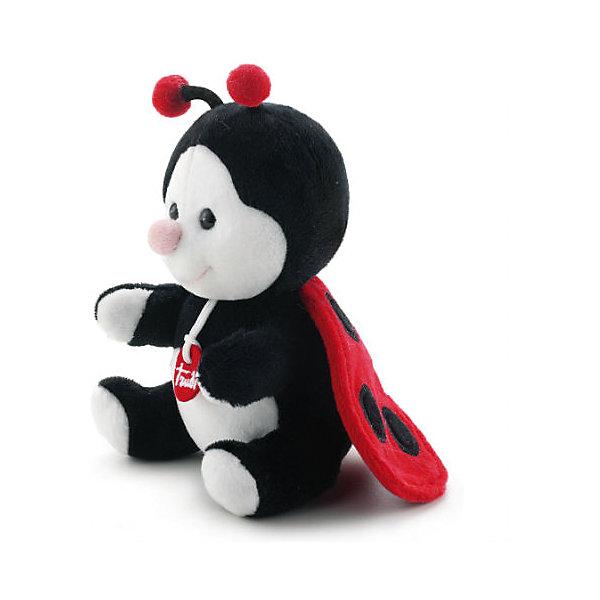 Божья коровка, 15 см, TrudiМягкие игрушки животные<br>Очаровательная Божья коровка обязательно понравится ребенку. Она выполнена из мягкого, приятного на ощупь плюша, имеет яркие красные в крапинку крылышки, веселые озорные глаза и маленькие усики - с ней будет очень весело играть днем и спокойно и приятно засыпать ночью. <br>Игрушка выполнена из безопасных для детей нетоксичных материалов, ее можно стирать в машинке при деликатном режиме. Прекрасный подарок на любой праздник! <br><br>Дополнительная информация:<br><br>- Материал: плюш, пластик, текстиль, искусственный мех. <br>- Высота: 15 см. <br>- Допускается машинная стирка при деликатной режиме (30 ?).<br><br>Божью коровку, 15 см, Trudi (Труди), можно купить в нашем магазине.<br><br>Ширина мм: 150<br>Глубина мм: 130<br>Высота мм: 95<br>Вес г: 80<br>Возраст от месяцев: -2147483648<br>Возраст до месяцев: 2147483647<br>Пол: Унисекс<br>Возраст: Детский<br>SKU: 5055244