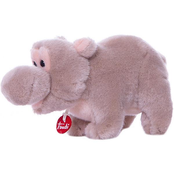 Бегемотик, 15 см, TrudiМягкие игрушки животные<br>Милый бегемотик от Trudi очарует и детей, и взрослых! Мягкая шерстка бегемотика очень приятна на ощупь. С ним будет очень весело играть днем, придумывая разные истории, и спокойно и уютно засыпать ночью. Игрушка изготовлена из высококачественных нетоксичных гипоаллергенных материалов абсолютно безопасных для самых маленьких детей.<br><br>Дополнительная информация:<br><br>- Материал: пластик, текстиль, искусственный мех. <br>- Высота: 15 см. <br>- Допускается машинная стирка при деликатной режиме (30 ?).<br><br>Бегемотика, 15 см, Trudi (Труди), можно купить в нашем магазине.<br>Ширина мм: 95; Глубина мм: 130; Высота мм: 140; Вес г: 100; Возраст от месяцев: 12; Возраст до месяцев: 2147483647; Пол: Унисекс; Возраст: Детский; SKU: 5055246;
