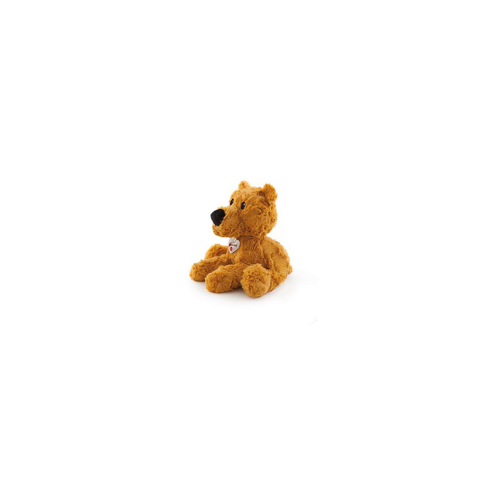 Рыжий мишка, 38 см, TrudiМягкие игрушки животные<br>Очаровательный мишка станет лучшим другом вашему малышу! У мишутки очень мягкая шерстка, черный бархатный носик, добрые озорные глаза - с ним будет очень весело играть днем и спокойно и уютно засыпать ночью. Игрушка изготовлена из высококачественных нетоксичных, экологичных материалов абсолютно безопасных для детей. Благодаря тщательной проработке всех деталей, мишка выглядит очень реалистично, что, несомненно, порадует ребенка. Прекрасный подарок на любой праздник!<br><br>Дополнительная информация:<br><br>- Материал: плюш, пластик, текстиль, искусственный мех. <br>- Высота: 38 см. <br>- Допускается машинная стирка при деликатной режиме (30 ?).<br><br>Рыжего мишку, 38 см, Trudi (Труди), можно купить в нашем магазине.<br><br>Ширина мм: 280<br>Глубина мм: 250<br>Высота мм: 380<br>Вес г: 260<br>Возраст от месяцев: 12<br>Возраст до месяцев: 2147483647<br>Пол: Унисекс<br>Возраст: Детский<br>SKU: 5055248