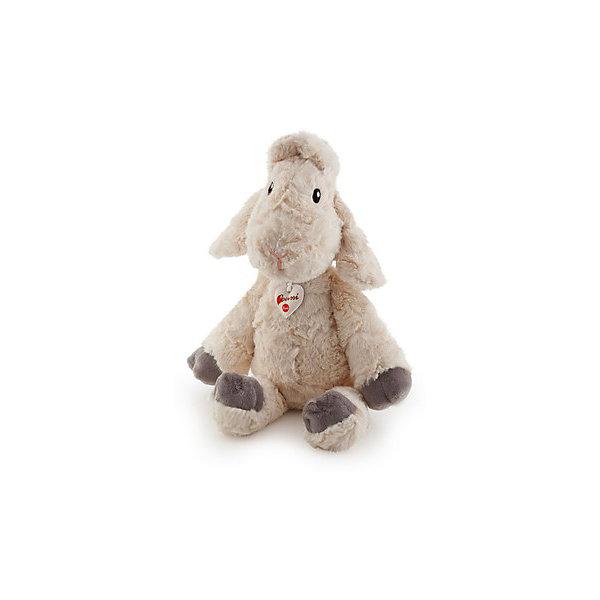 Белая овечка, 45 см, TrudiМягкие игрушки животные<br>Очаровательная овечка от Trudi станет лучшим другом вашему малышу! У милой овечки очень мягкая шерстка, маленький розовый носик, добрые озорные глаза - с ней будет очень весело играть днем и спокойно и уютно засыпать ночью. Игрушка изготовлена из высококачественных нетоксичных, экологичных материалов абсолютно безопасных для детей. Благодаря тщательной проработке всех деталей, кошка выглядит очень реалистично, что, несомненно, порадует ребенка. Прекрасный подарок на любой праздник!<br><br>Дополнительная информация:<br><br>- Материал: плюш, пластик, текстиль, искусственный мех. <br>- Высота: 45 см. <br>- Допускается машинная стирка при деликатной режиме (30 ?).<br><br>Белую овечку, 45 см, Trudi (Труди), можно купить в нашем магазине.<br><br>Ширина мм: 450<br>Глубина мм: 200<br>Высота мм: 250<br>Вес г: 350<br>Возраст от месяцев: 12<br>Возраст до месяцев: 2147483647<br>Пол: Унисекс<br>Возраст: Детский<br>SKU: 5055251